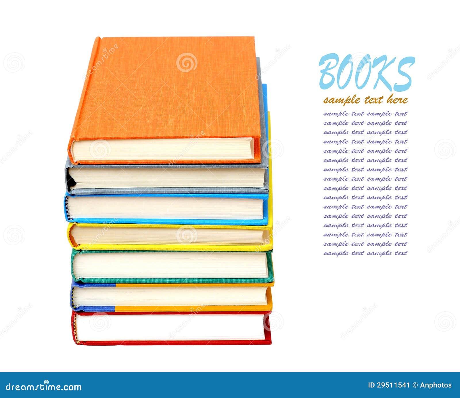 Kleurrijke boeken