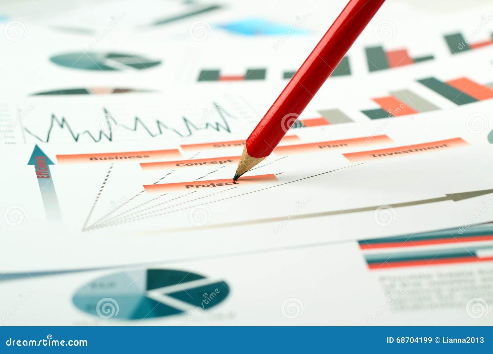 Kleurrijke grafieken, grafieken, marketing onderzoek en bedrijfs jaarverslagachtergrond, beheersproject, begroting financiële pla
