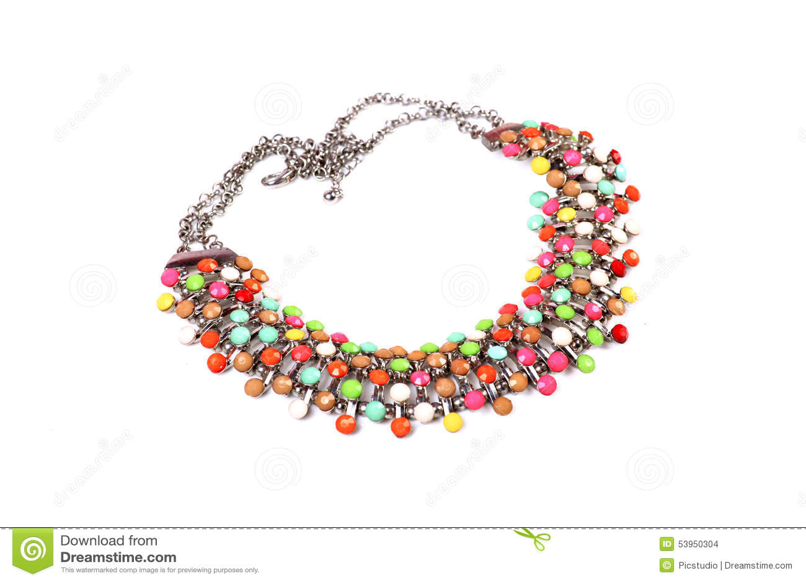 Kleurrijke halsband