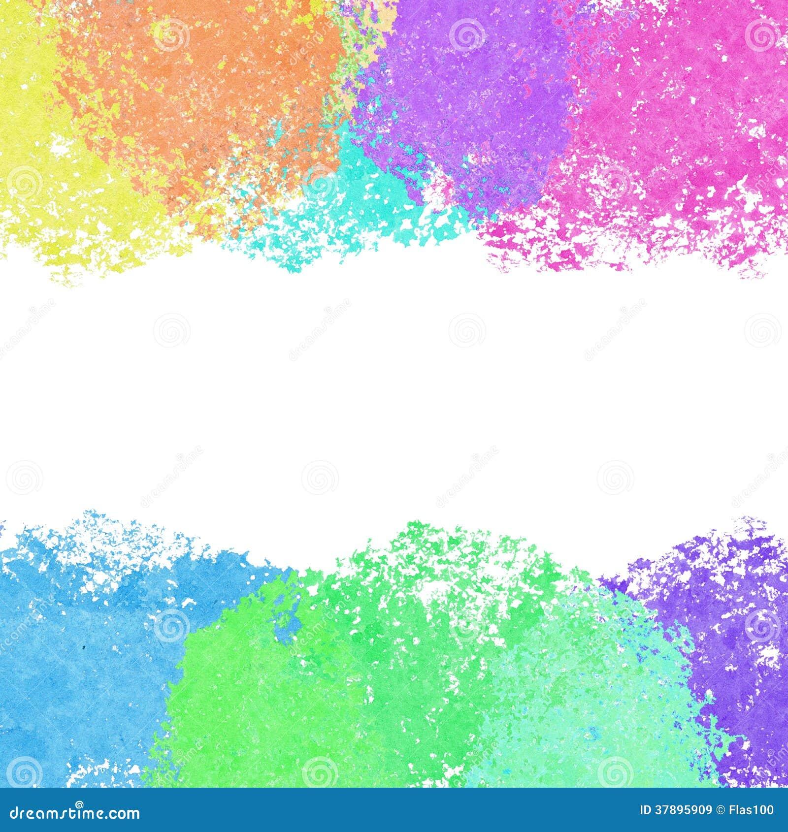Kleurrijke heldere waterverfachtergrond