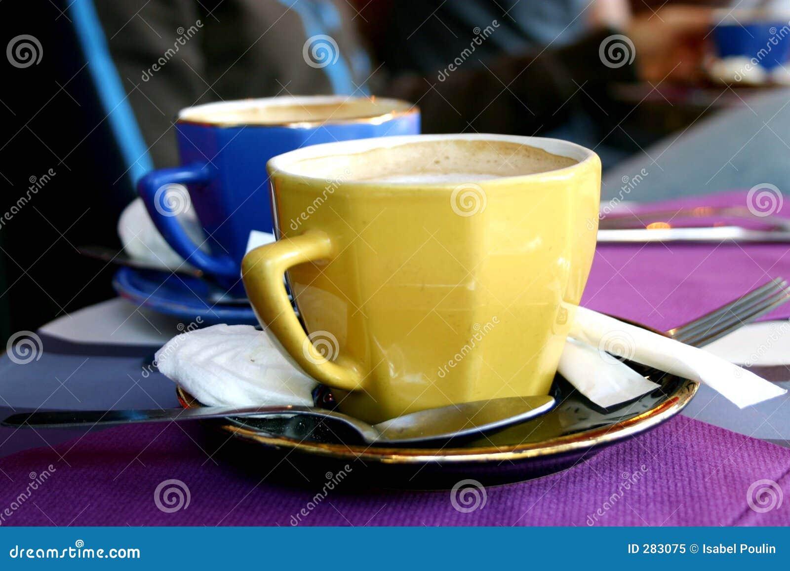 Kleurrijke koffie