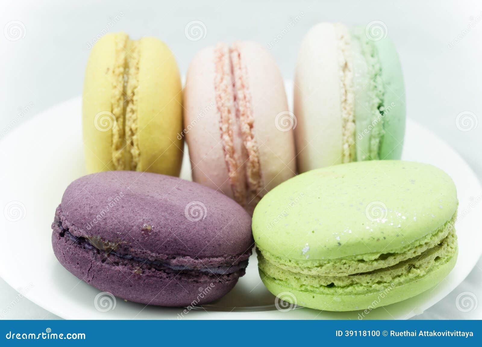Kleurrijke macaron
