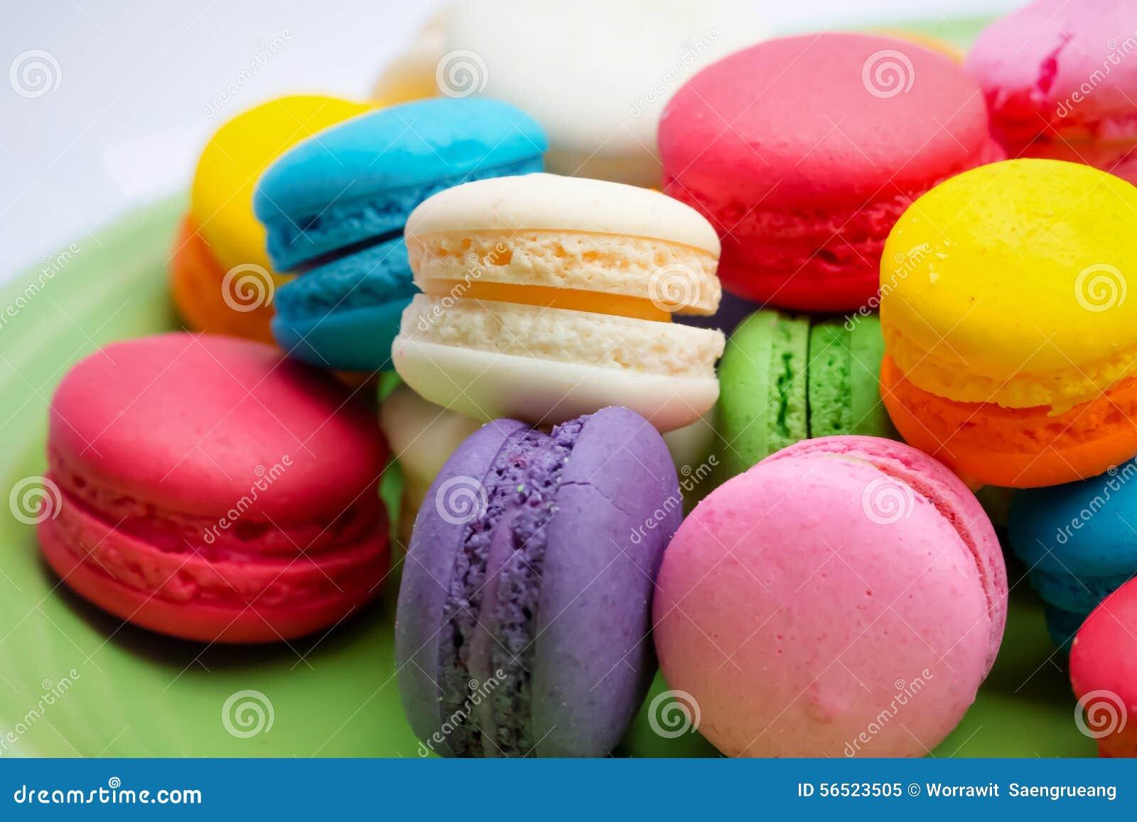 Kleurrijke Macarons