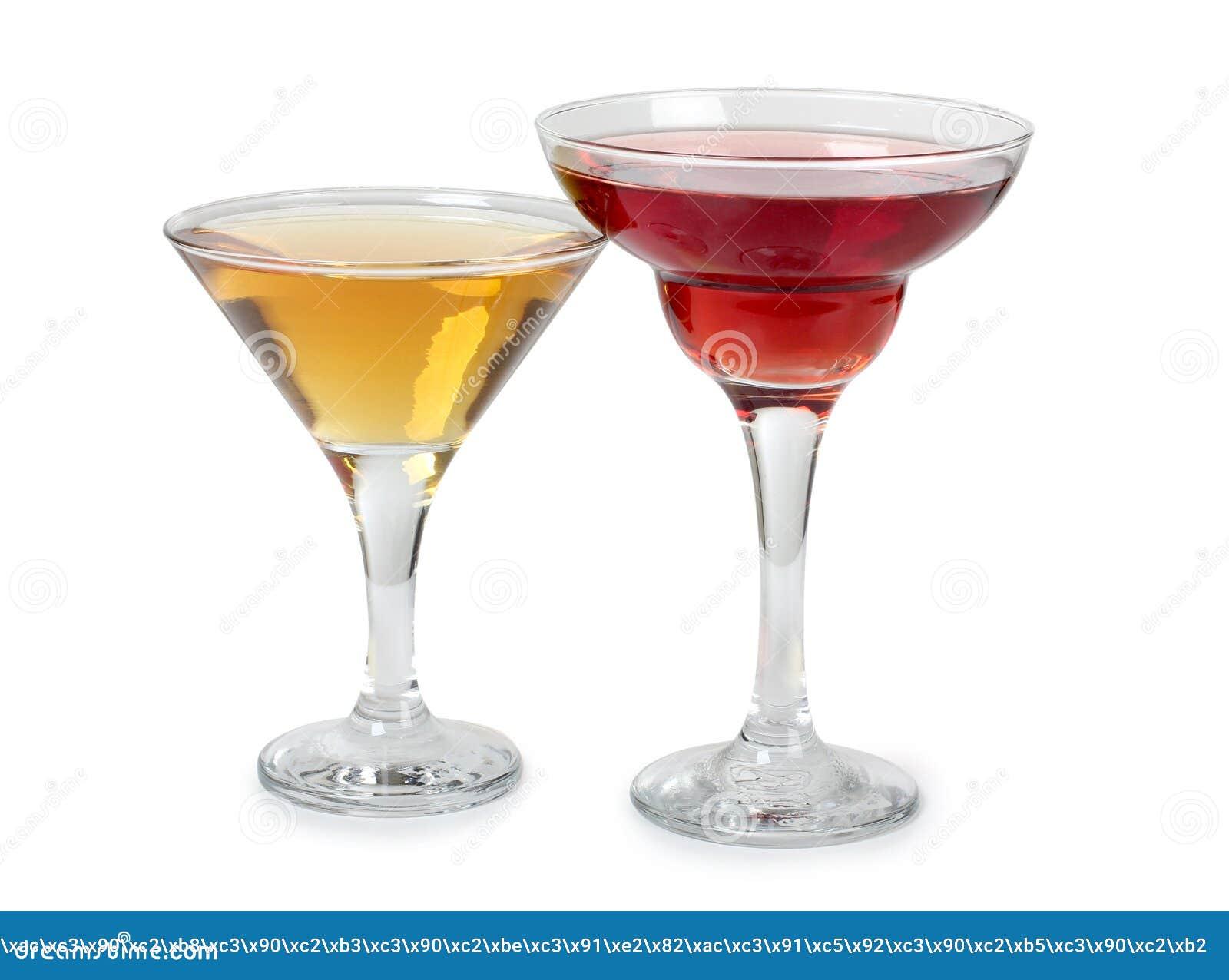 Kleurrijke martini