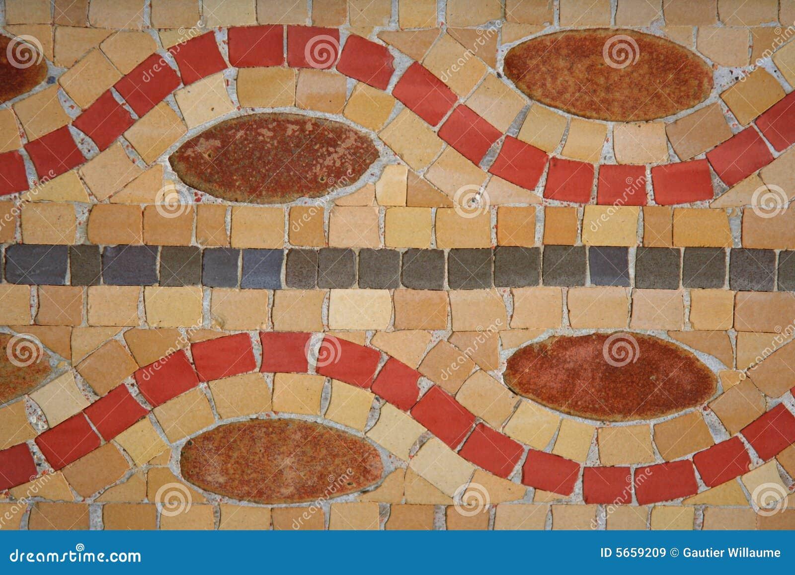 Kleurrijke mozaïeken