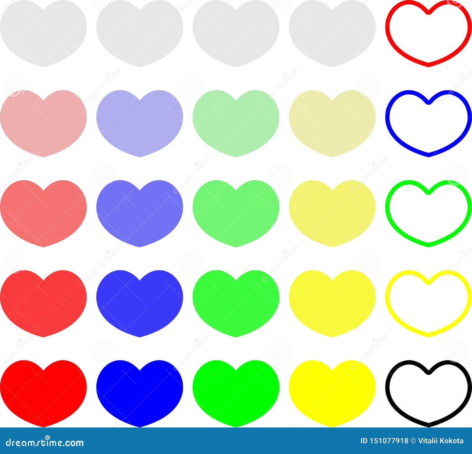Kleurrijke naadloze het patroonachtergrond van het hartsuikergoed Reeks gesprekssnoepjes voor de dag van de valentijnskaart