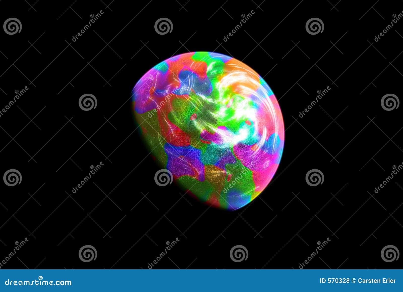 Kleurrijke Planeet