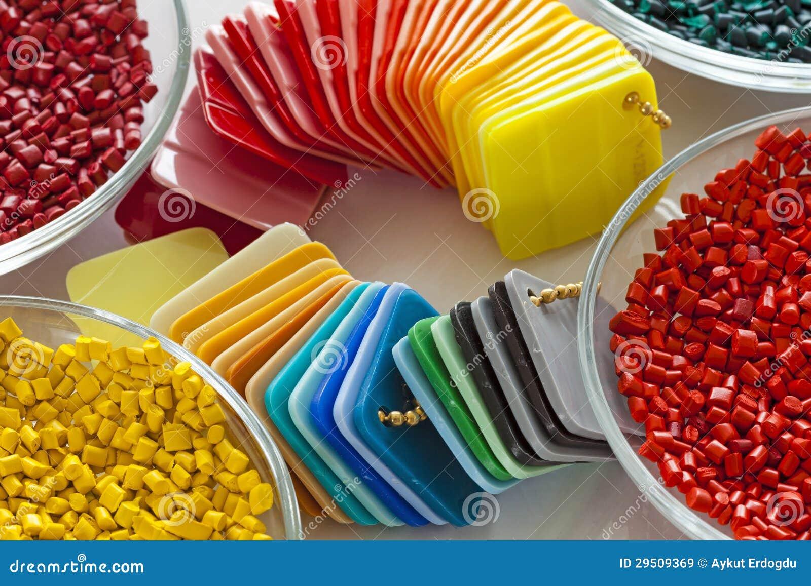 Kleurrijke plastic kaarten