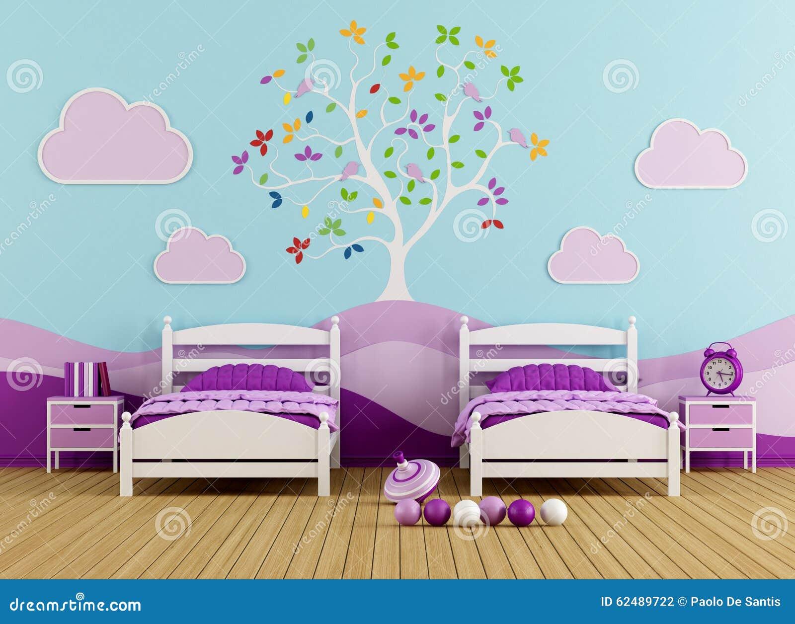 Kleur het concept woonkamer groen - Slaapkamer kleur meisje ...