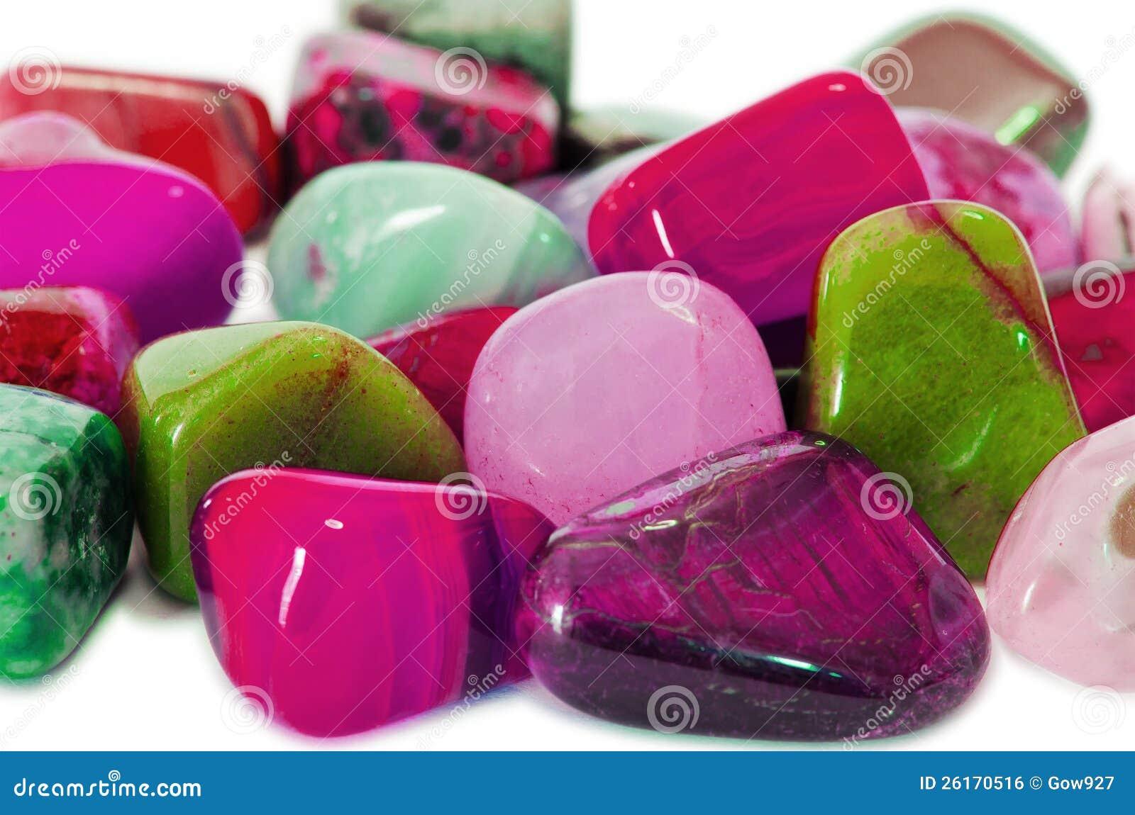 Kleurrijke Stenen (Macro)