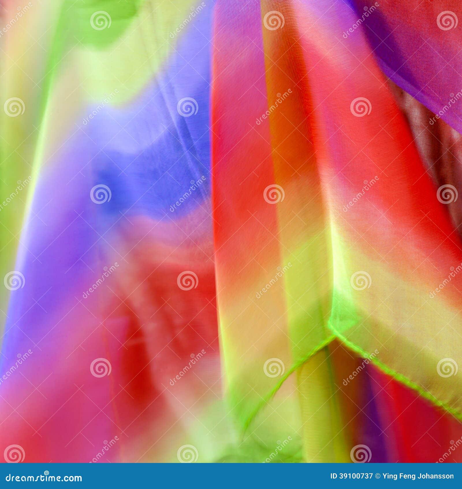 Kleurrijke textielachtergrond