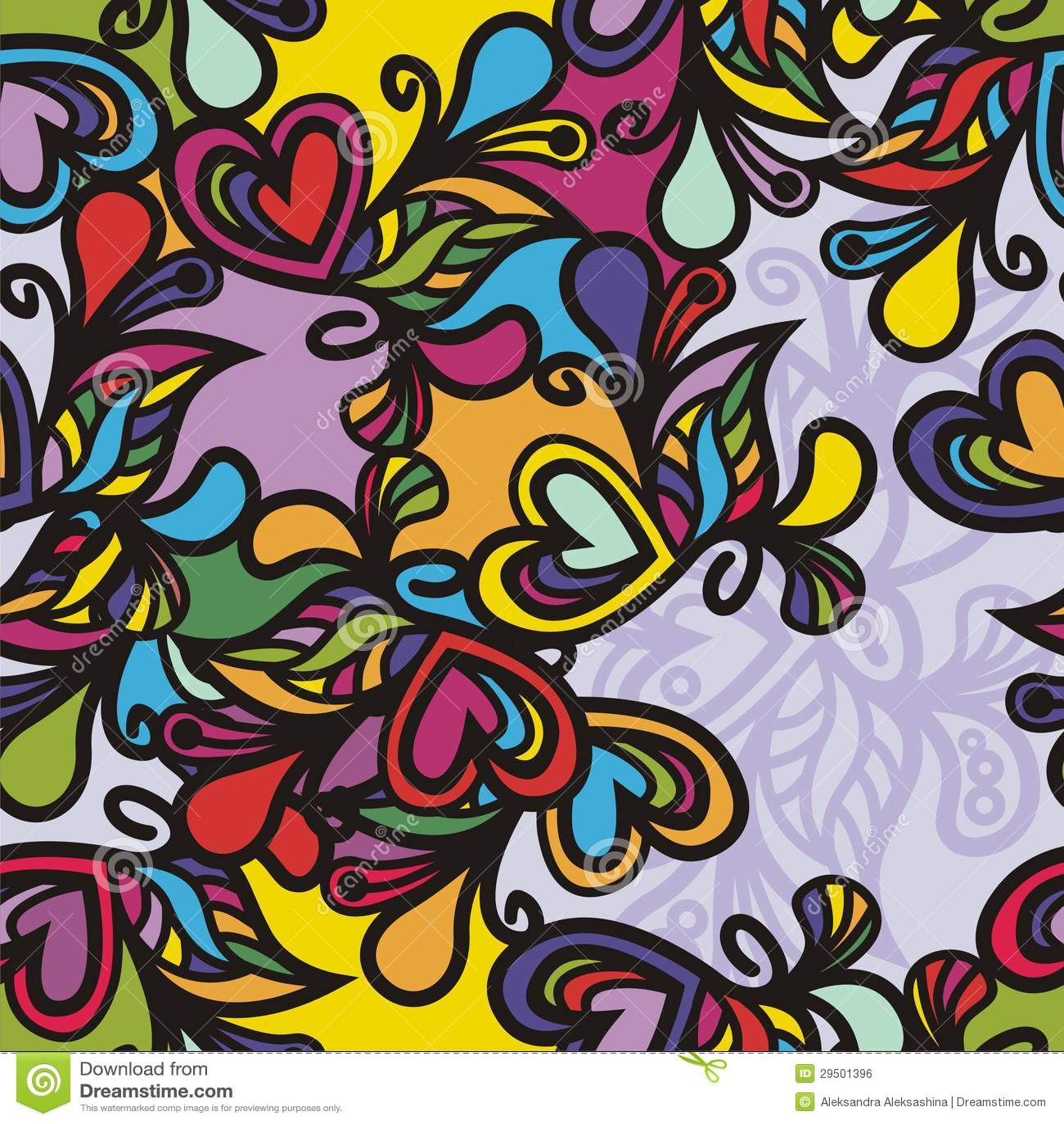 Kleurrijke textuur