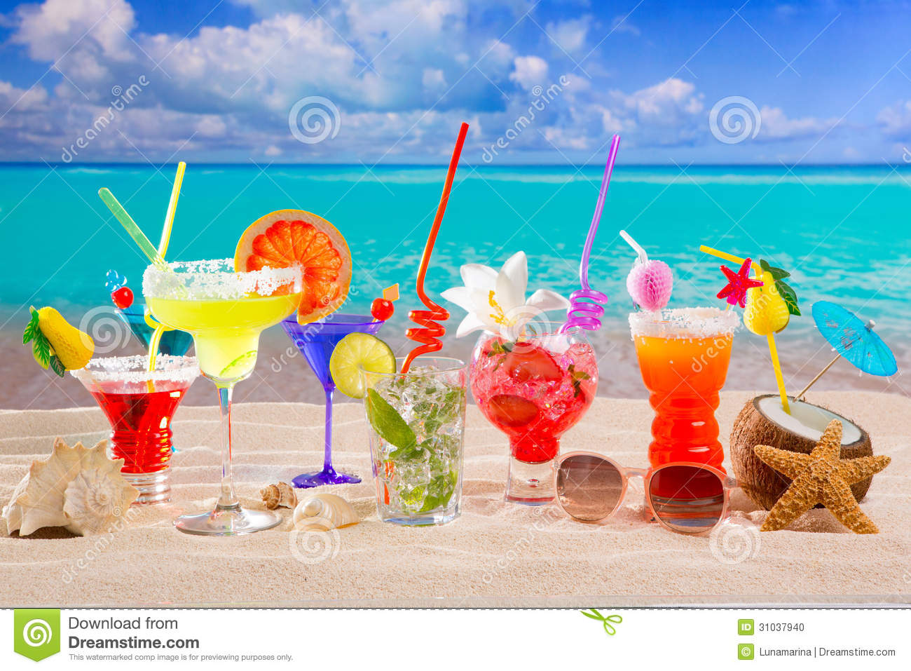 cancun beach clip art