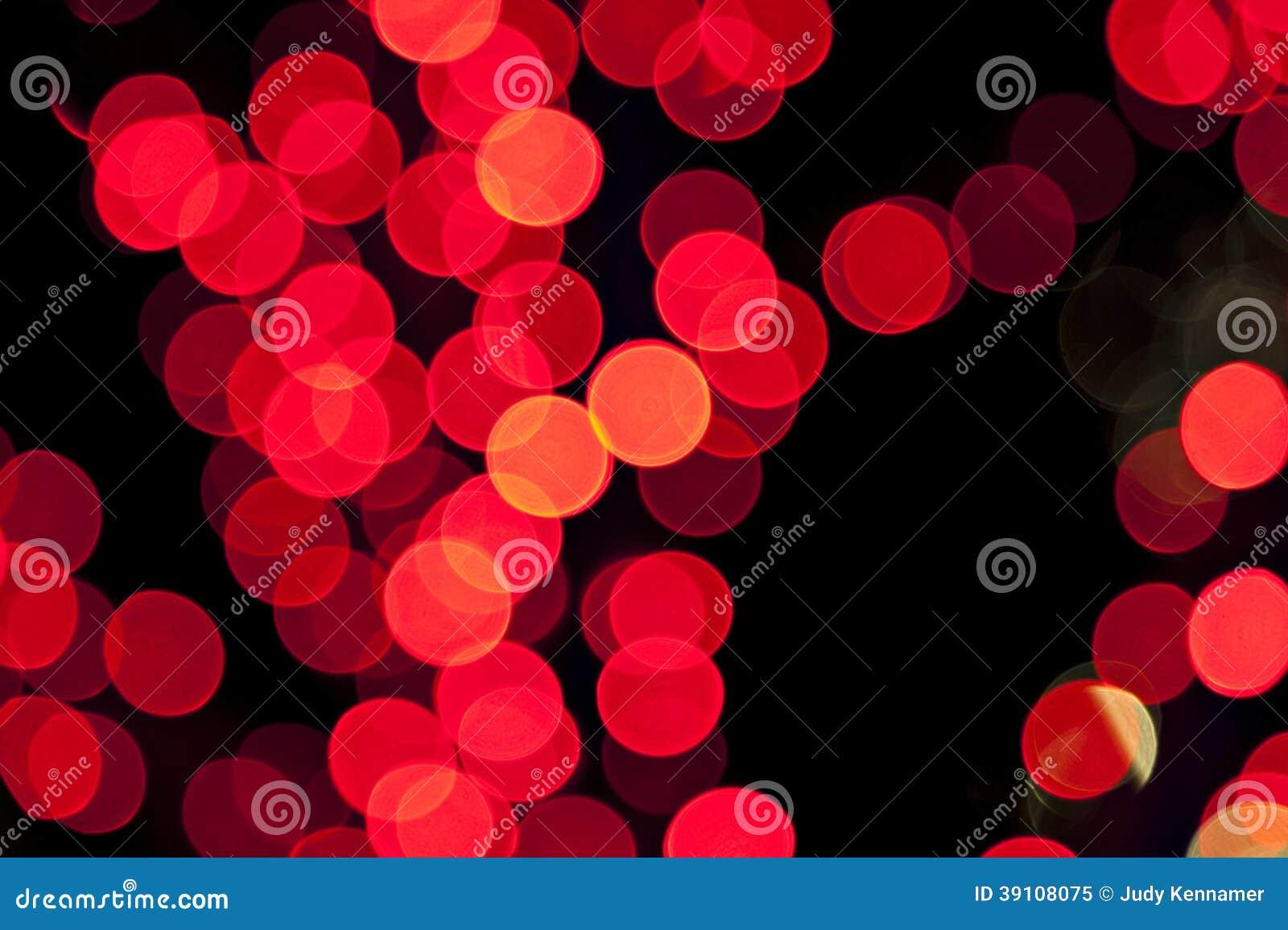 Kleurrijke vage bokeh lichten