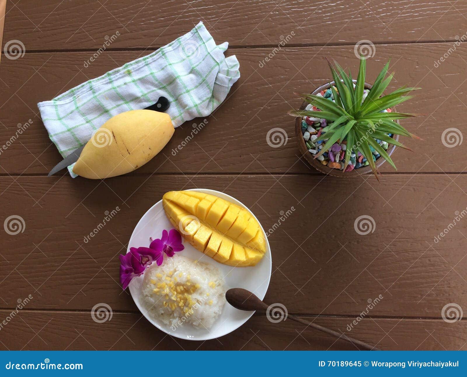 Klibbig sötsak för mangorice