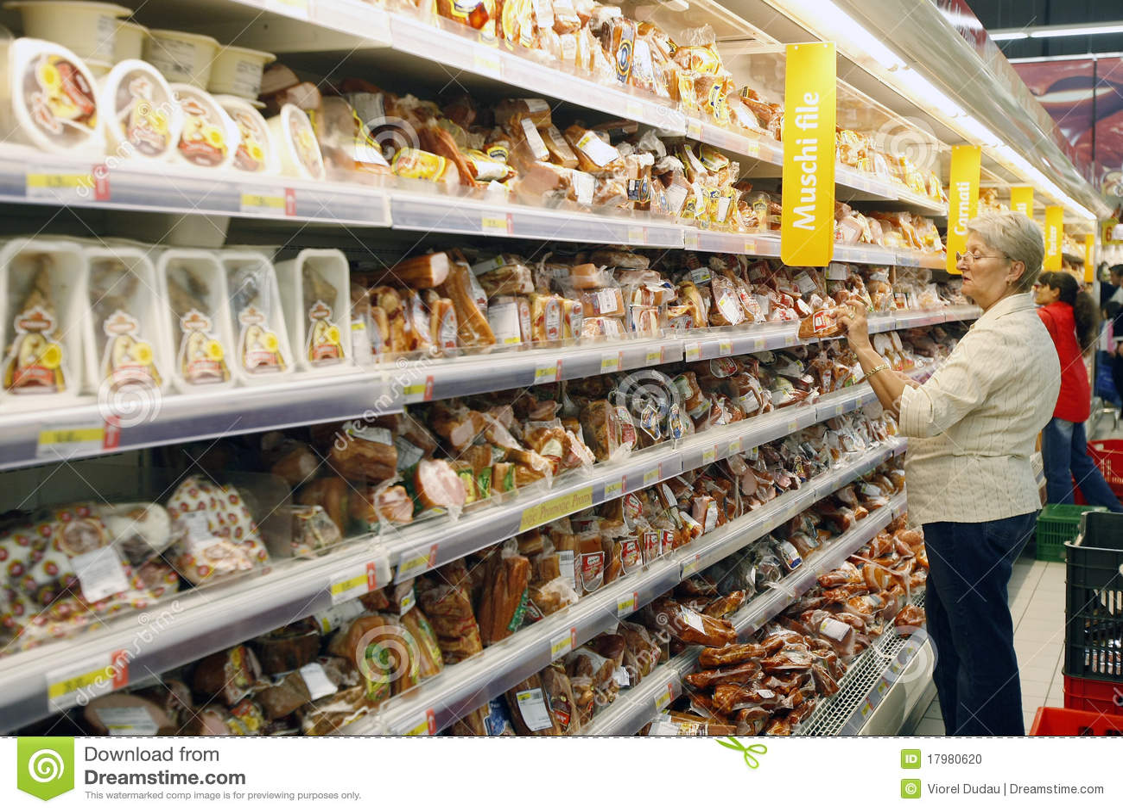 Klienci target1966_1_ supermarket