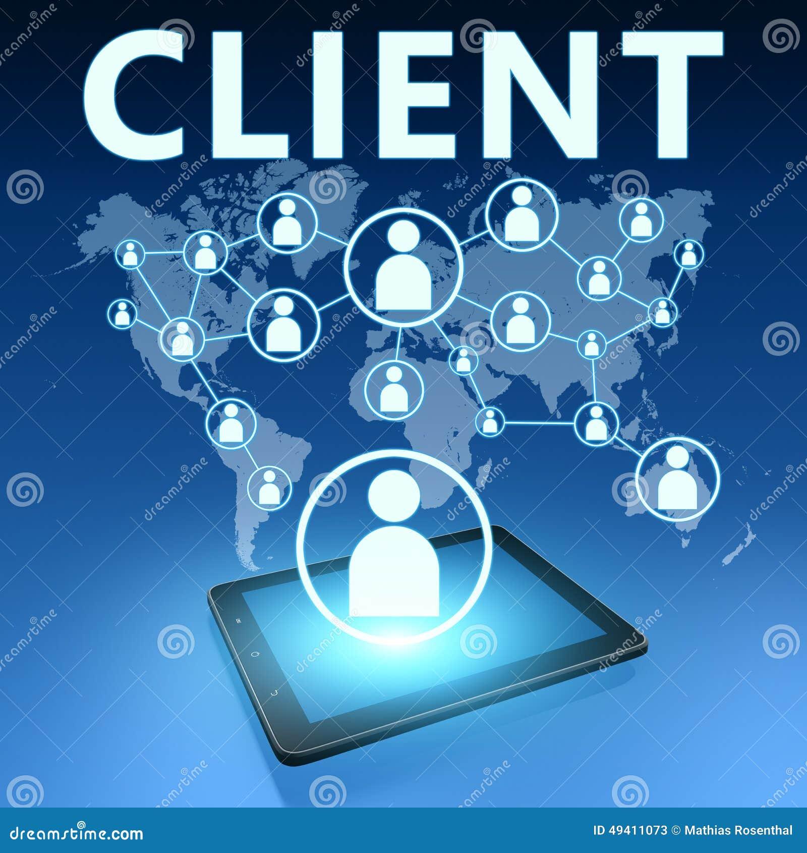 Download Klient stockbild. Bild von internet, geschäft, versicherung - 49411073