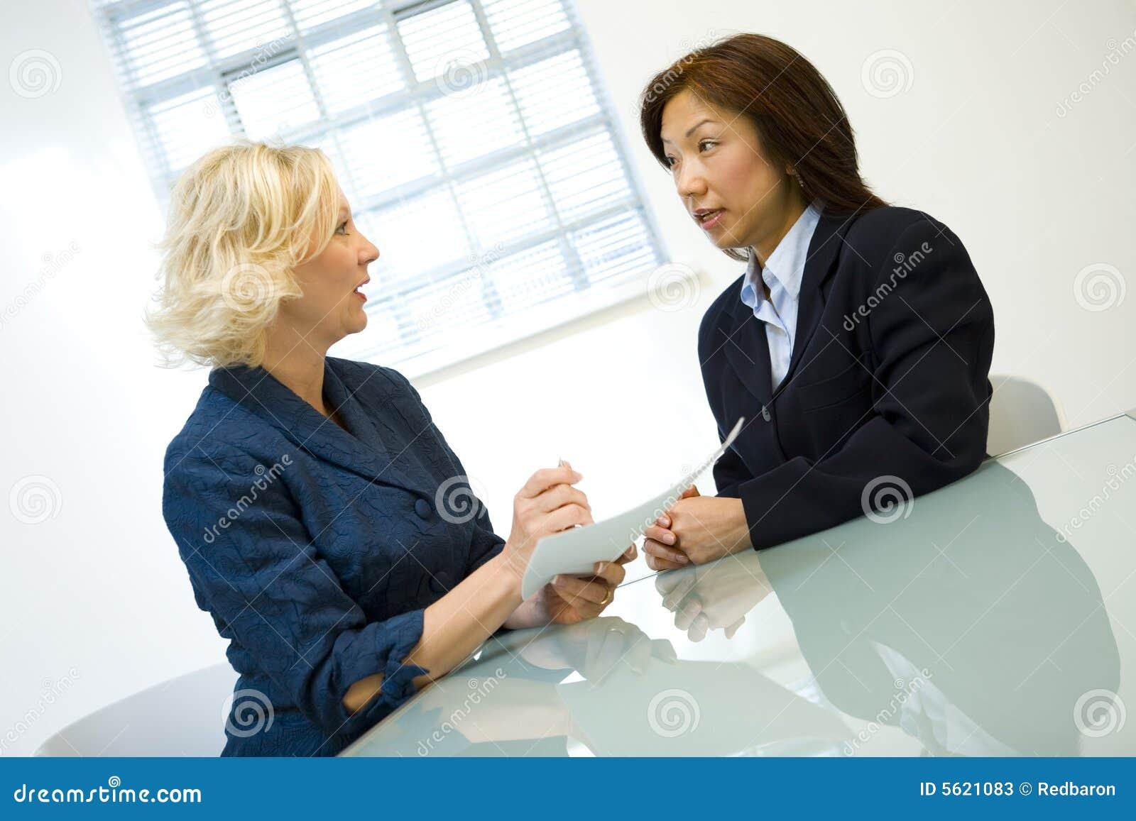 Klient bizneswomanu