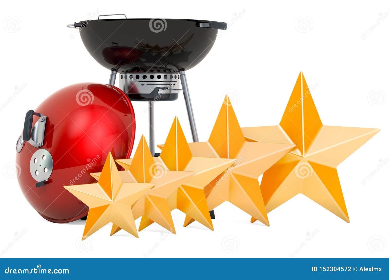 Klient ocena grilla grill, pojęcie ?wiadczenia 3 d
