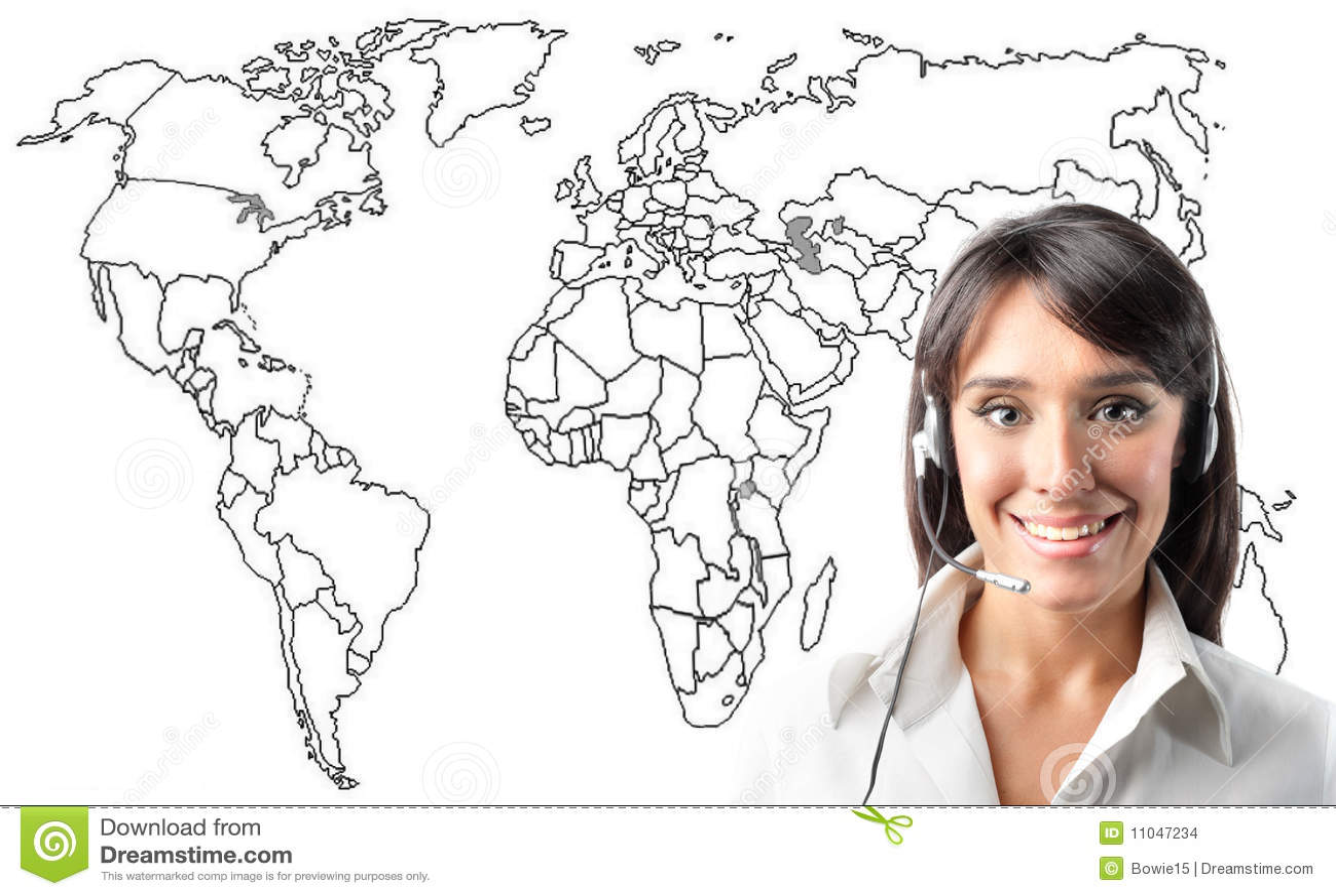 Klienta operatora usługa