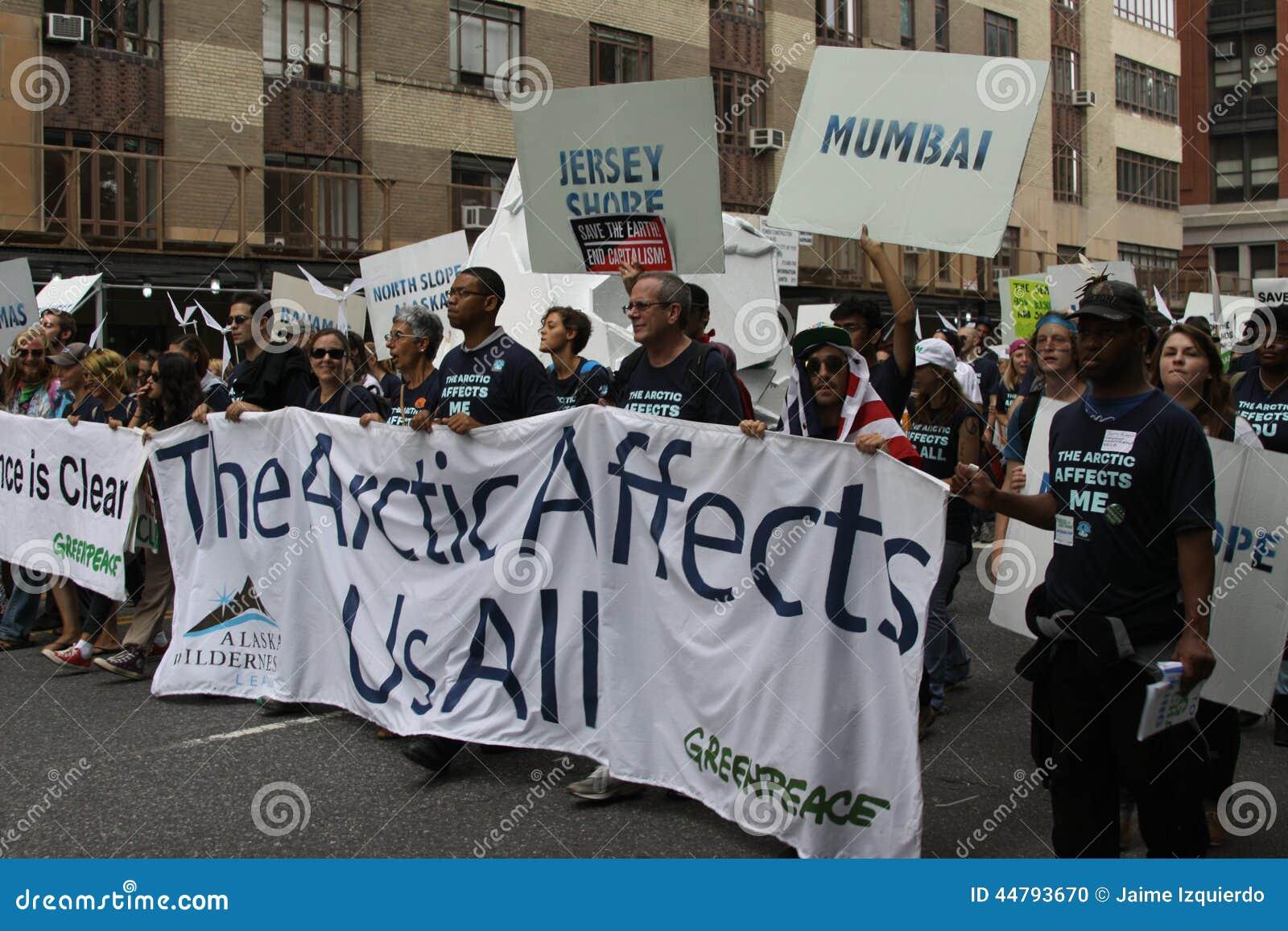 Klimaat Maart NYC 2014