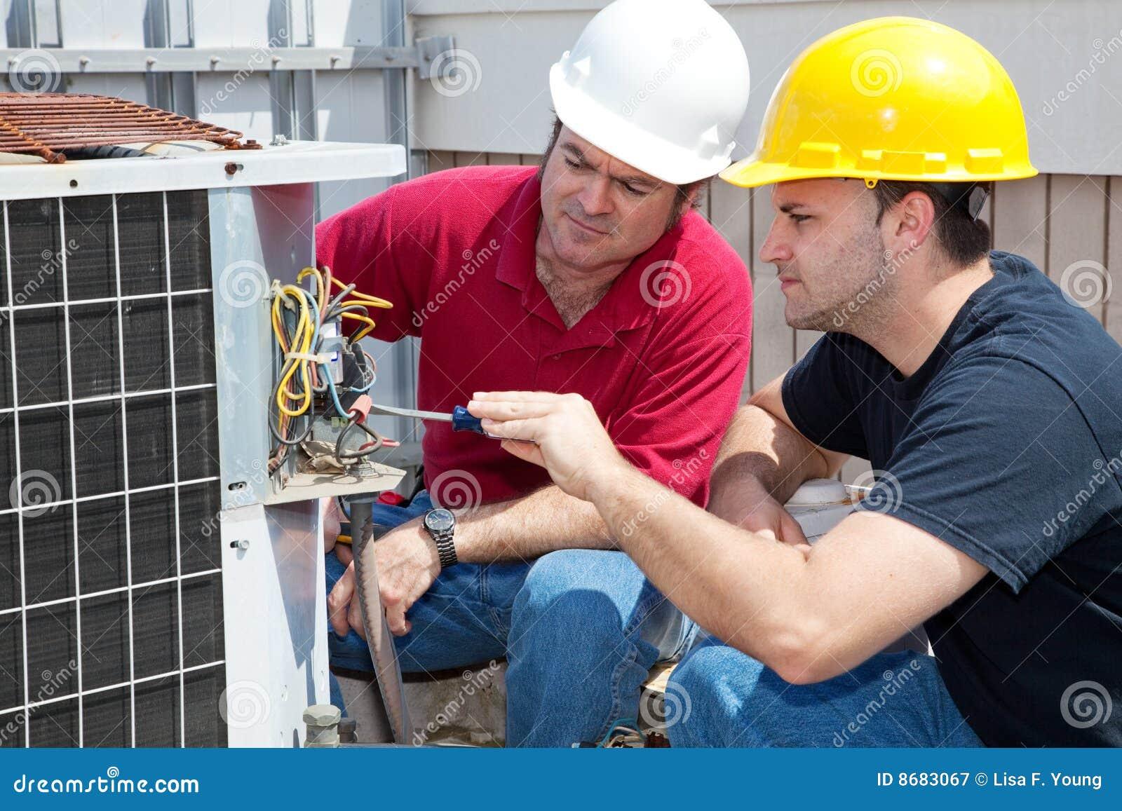 Klimatyzaci uczenie naprawa