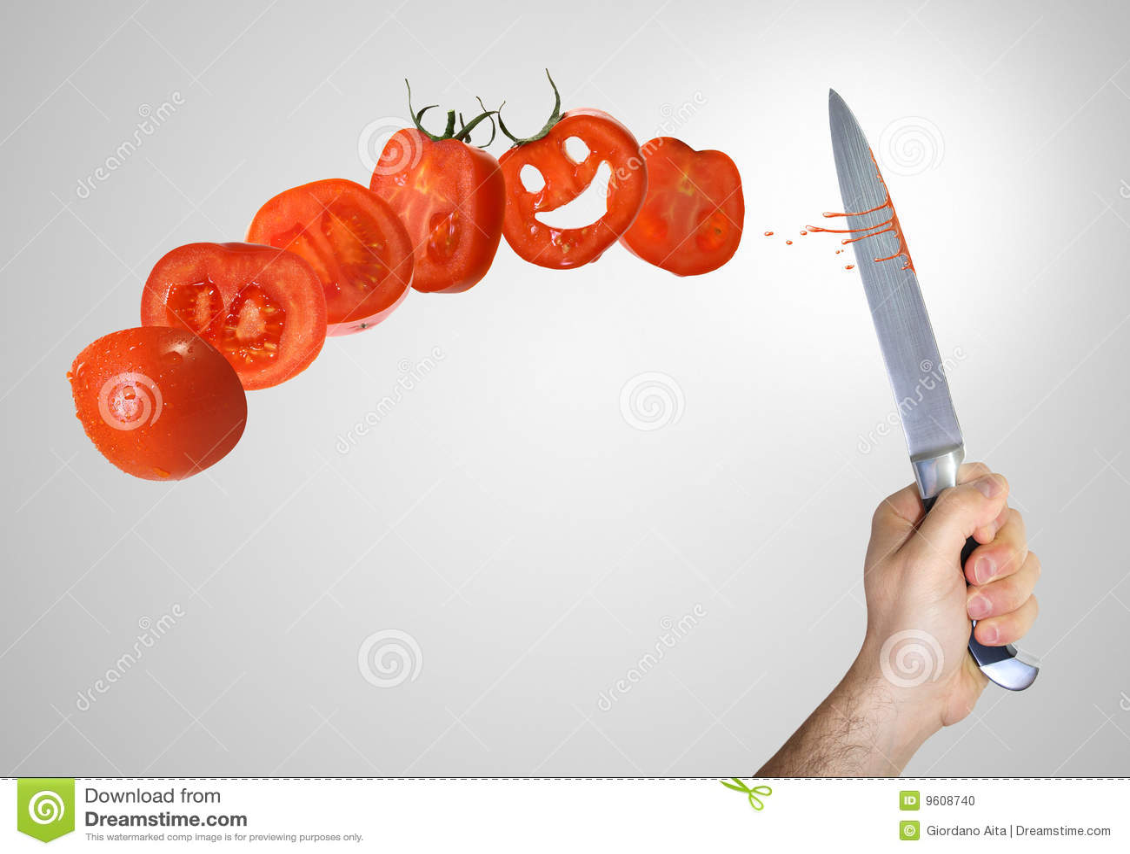 Klipp tomaten