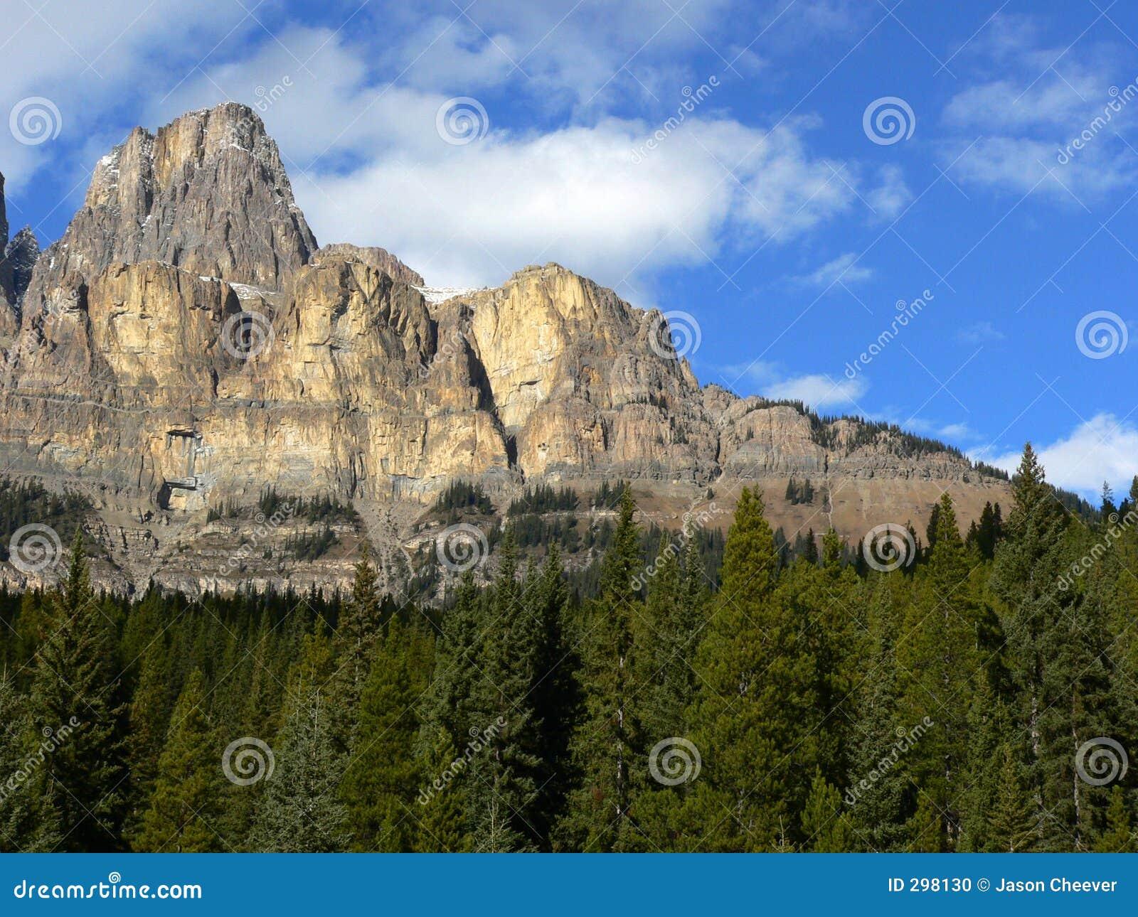 Klippen van de Berg van het Kasteel