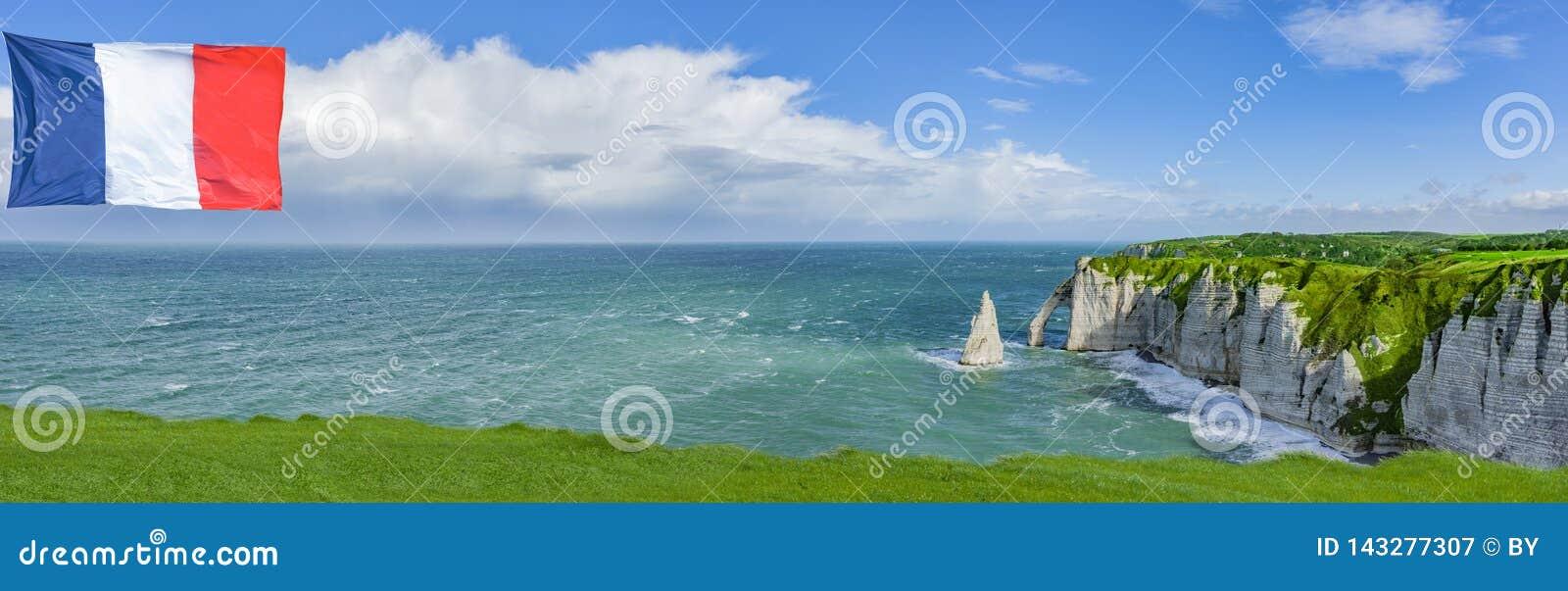 Klippen von Normandie