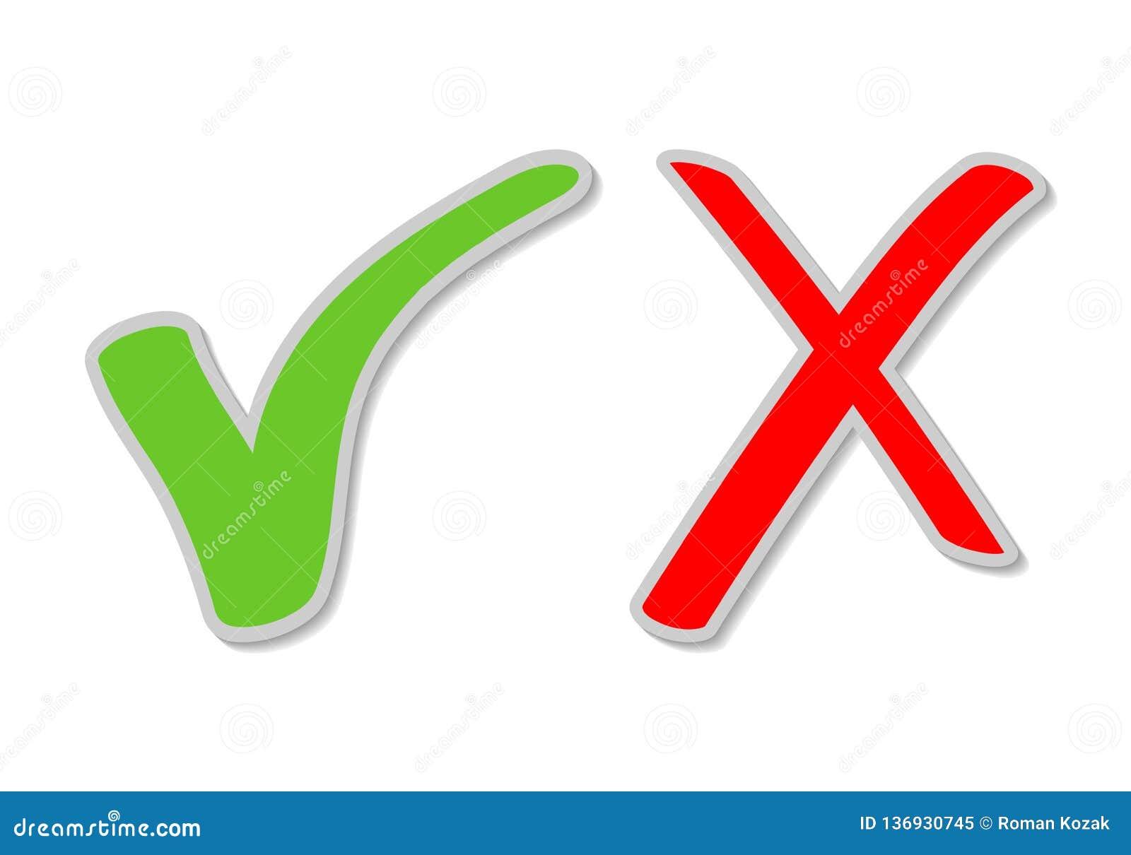 Klistermärkear för kontrollfläck, grön fästing och Röda korsettecken