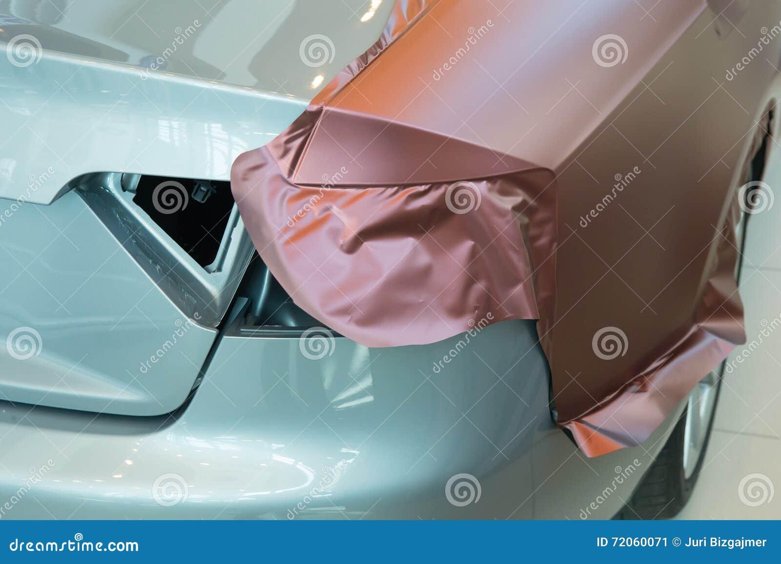 Klistra av kol- plast- för bil
