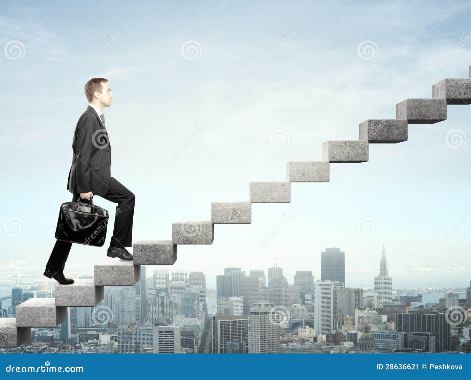 Kliva upp en trappuppgång