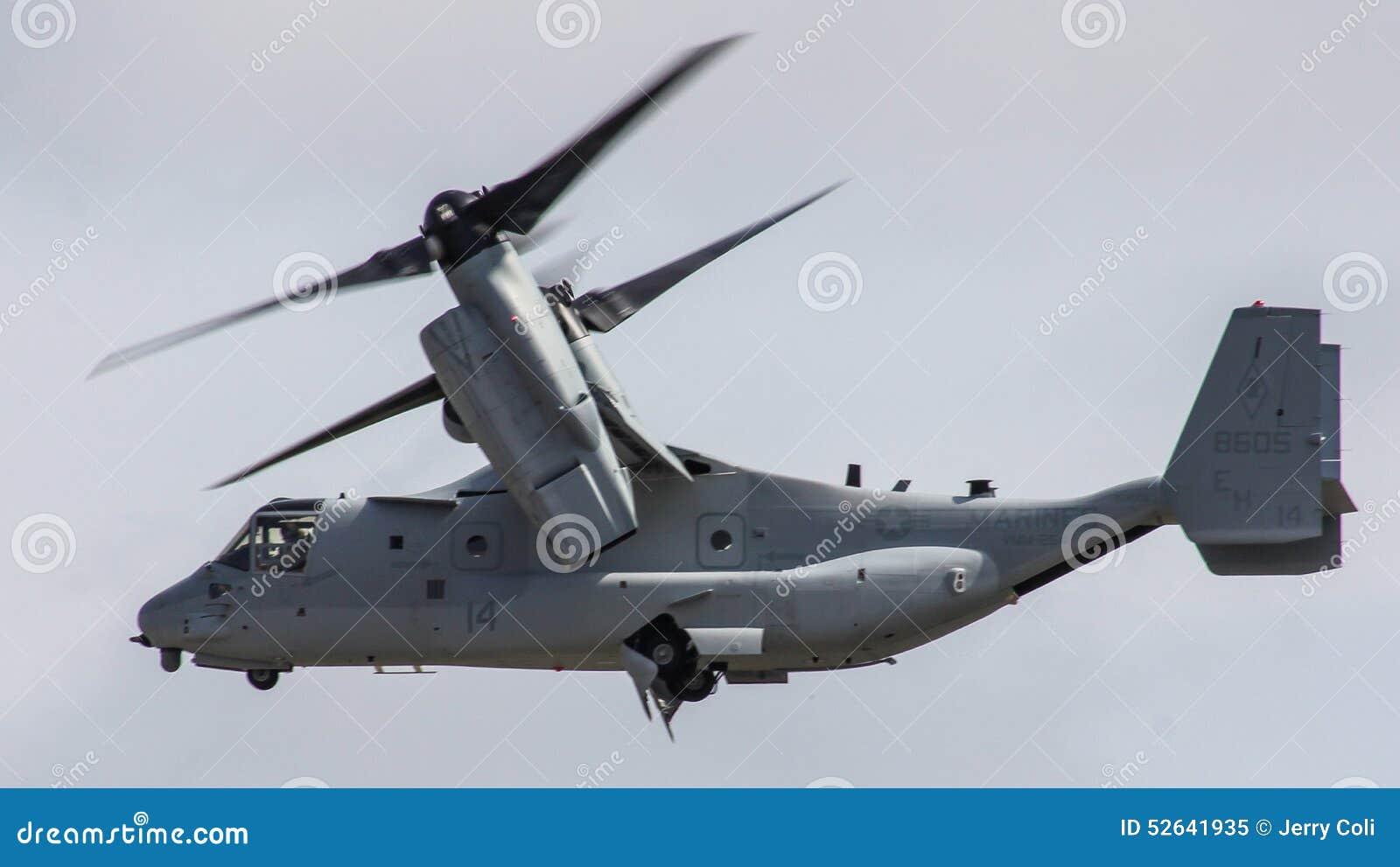 VSTOL Military Transport Aircraft Bell Boeing V 22 Osprey