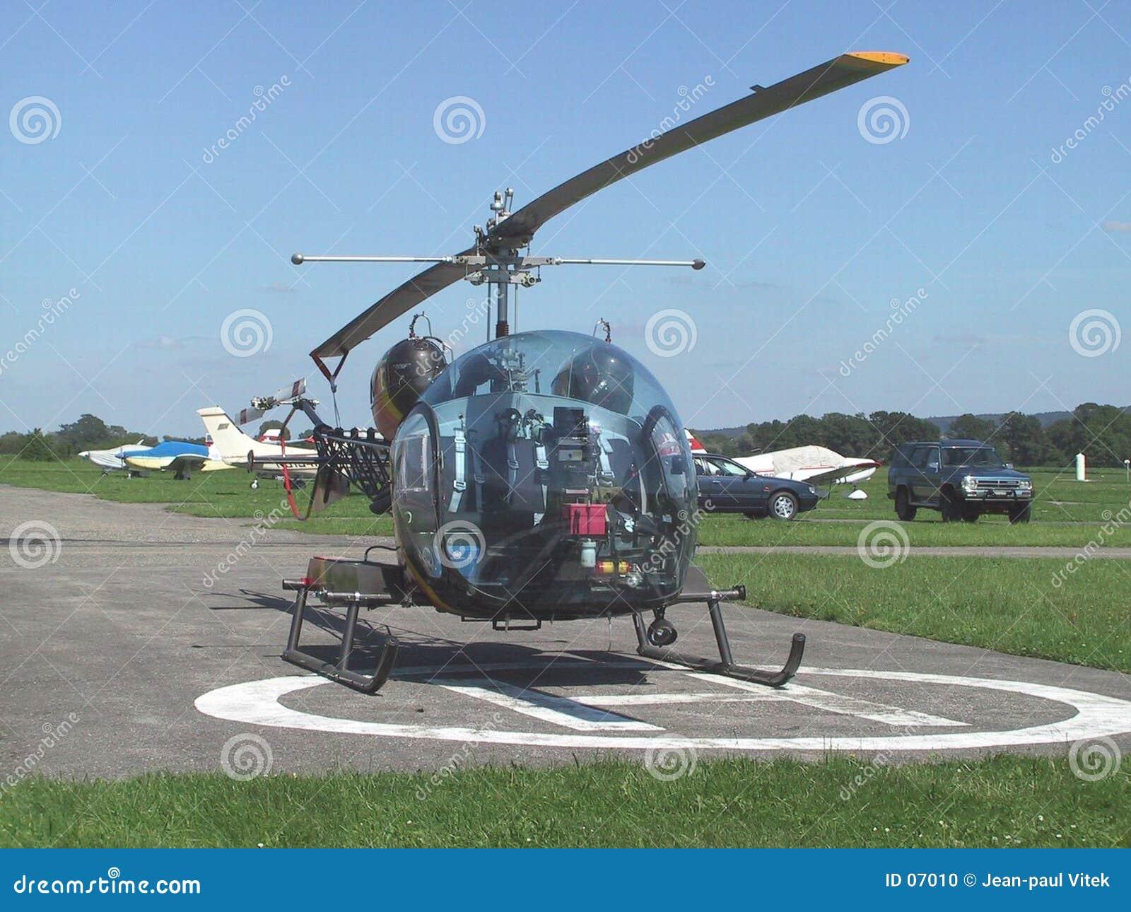 Klockahelikopter för 46 b