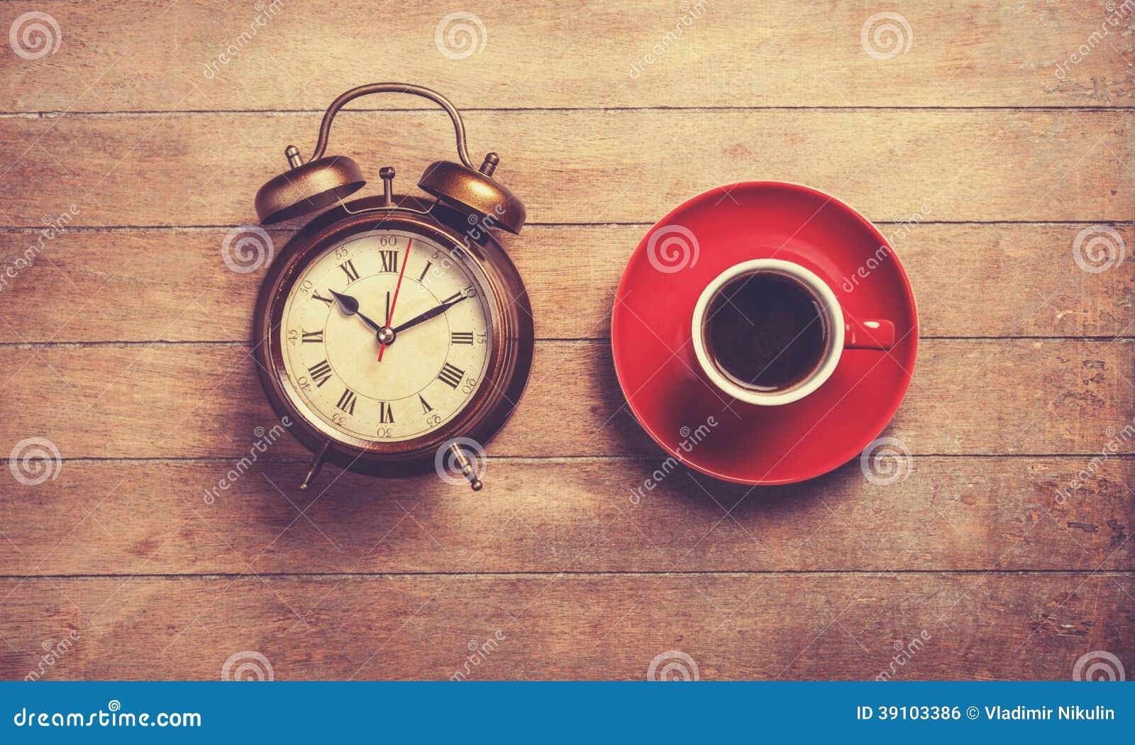 Klok en kop