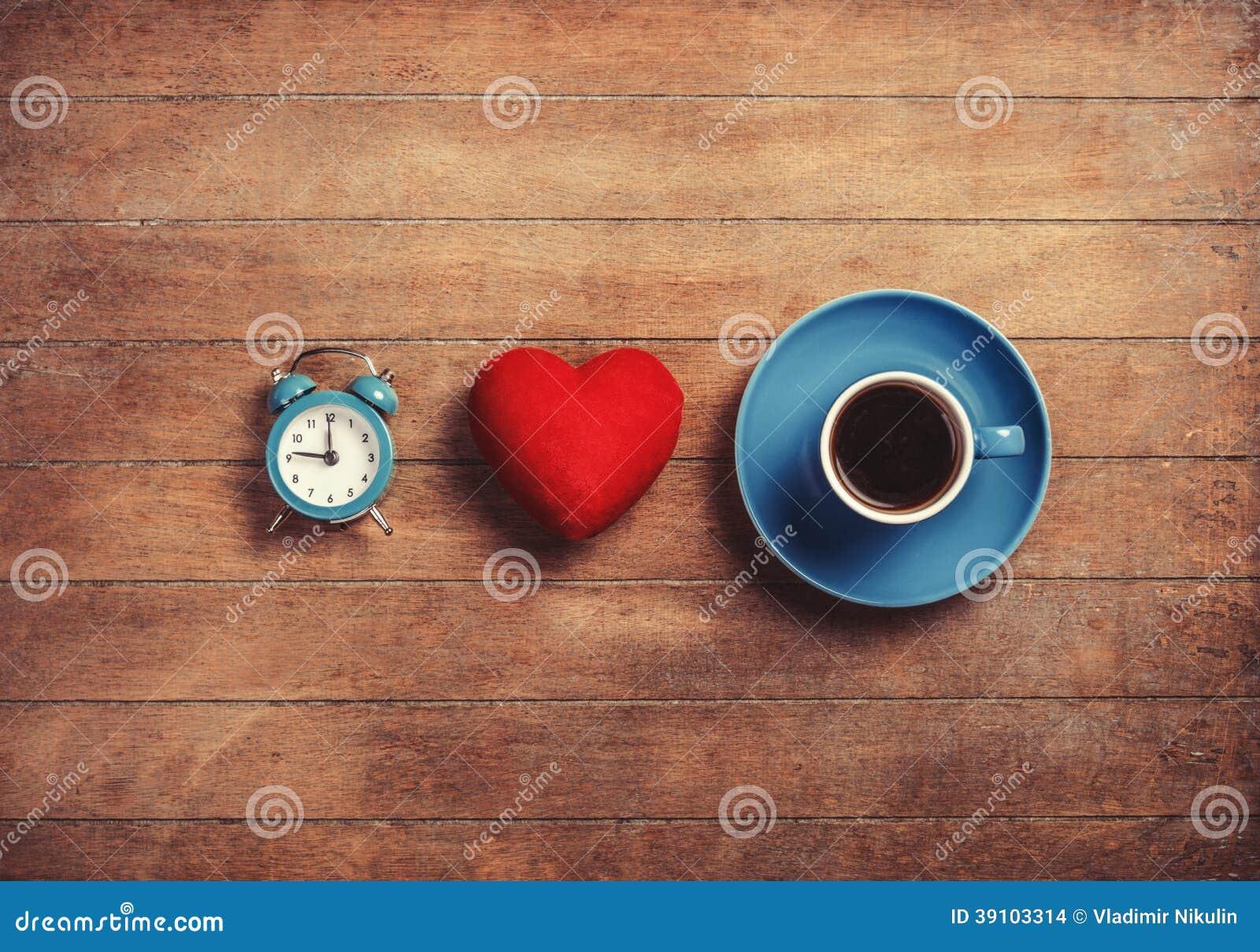 Klok, hart en kop