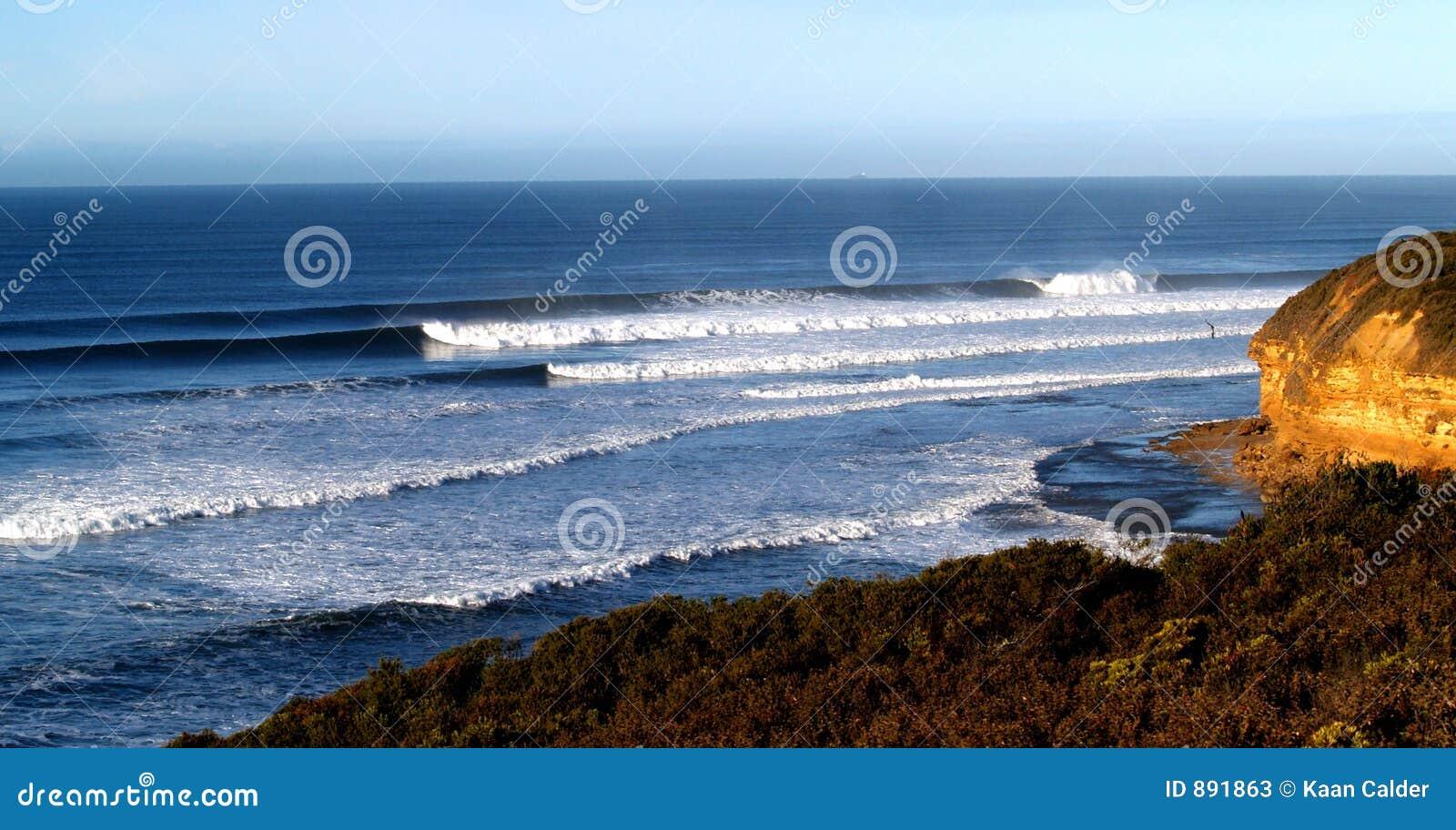 Klokken strand Australië