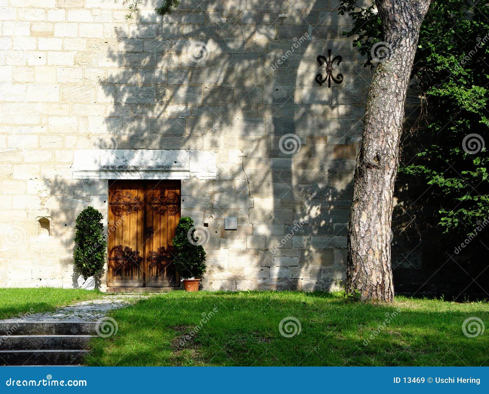 Klooster deur