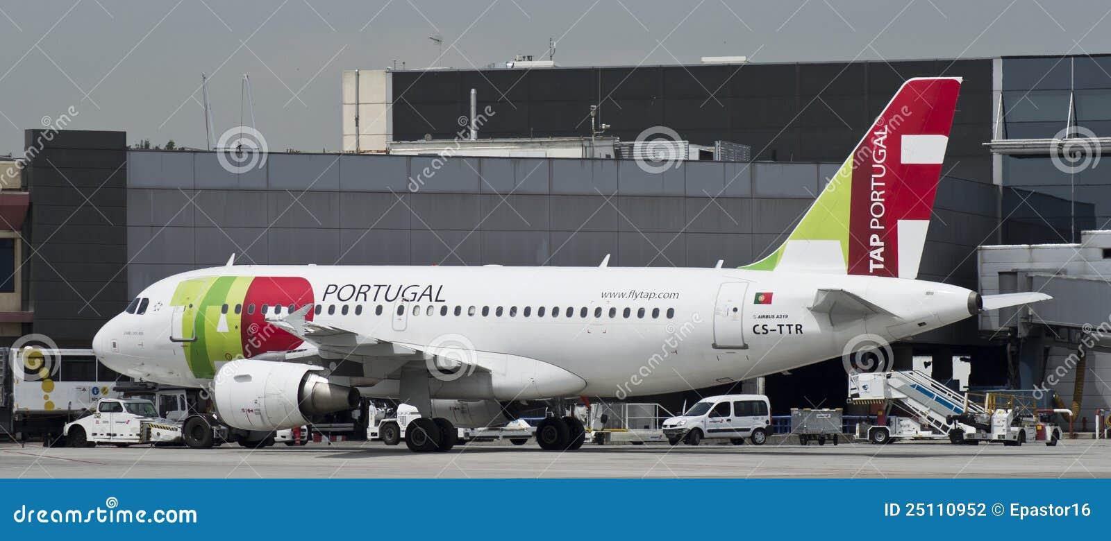 KLOPFEN Sie Portugal, Airbus 319