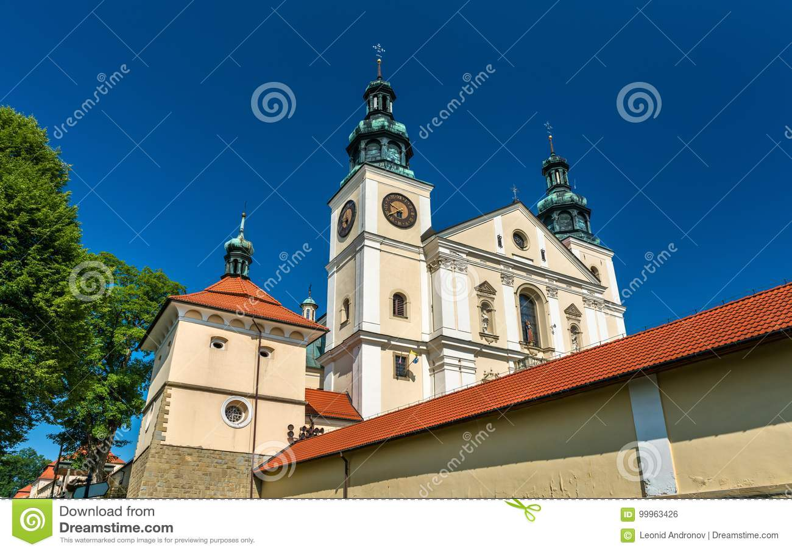 Kloster av Kalwaria Zebrzydowska, en UNESCOvärldsarv i Polen