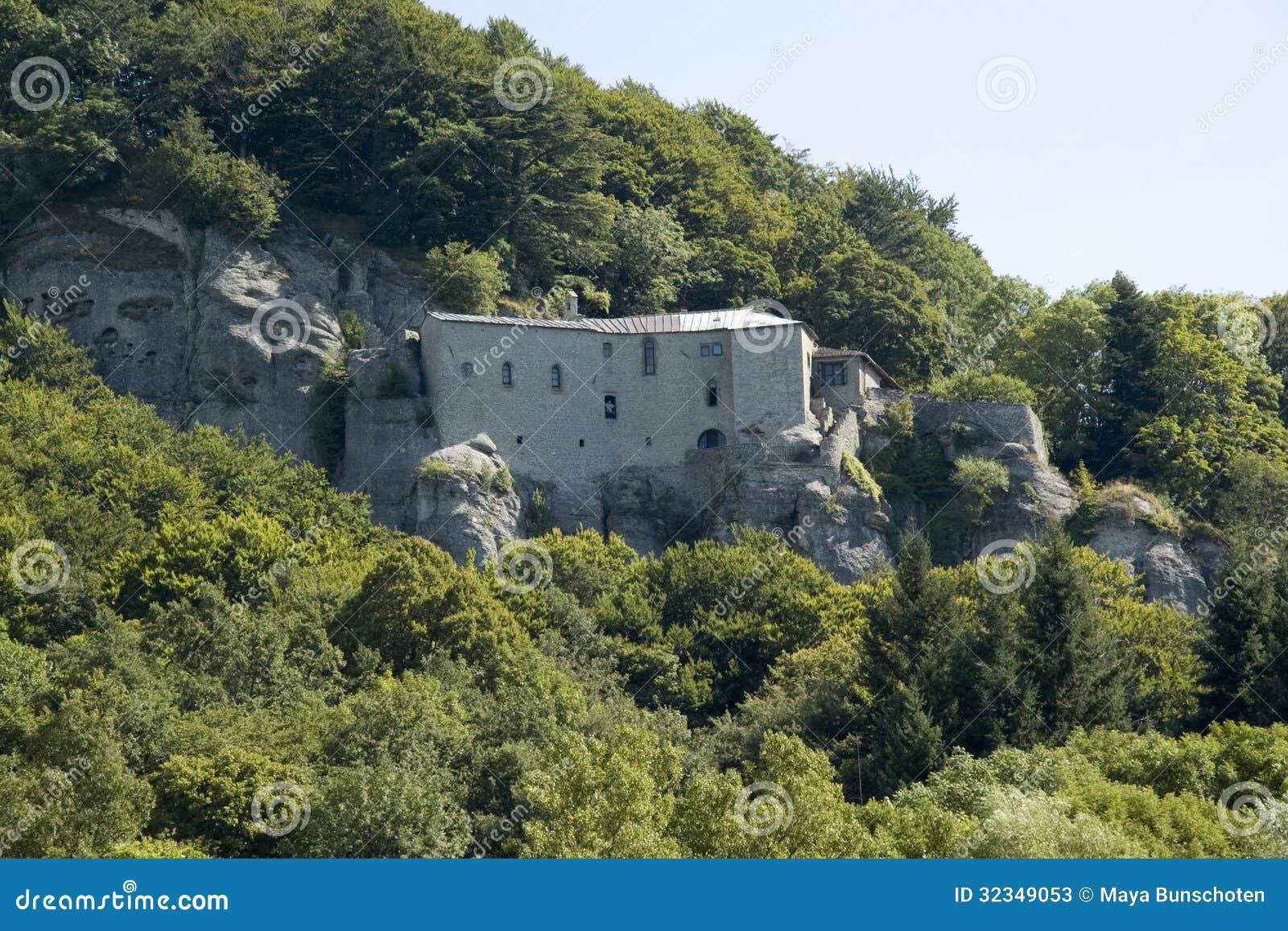 Kloster av La Verna
