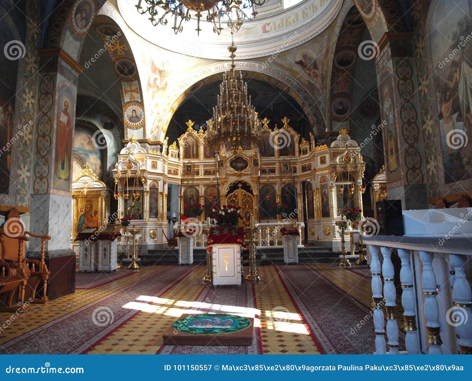 Kloster för JabÅ 'eczna, Polen