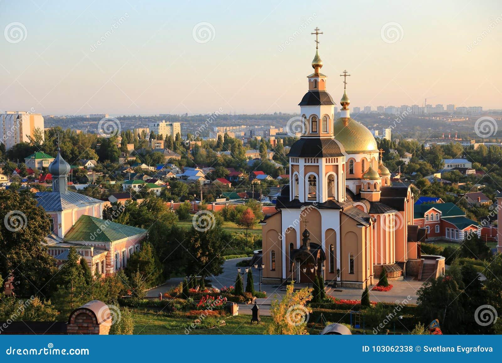 Kloster för ` s för St Alexey, Saratov, Ryssland