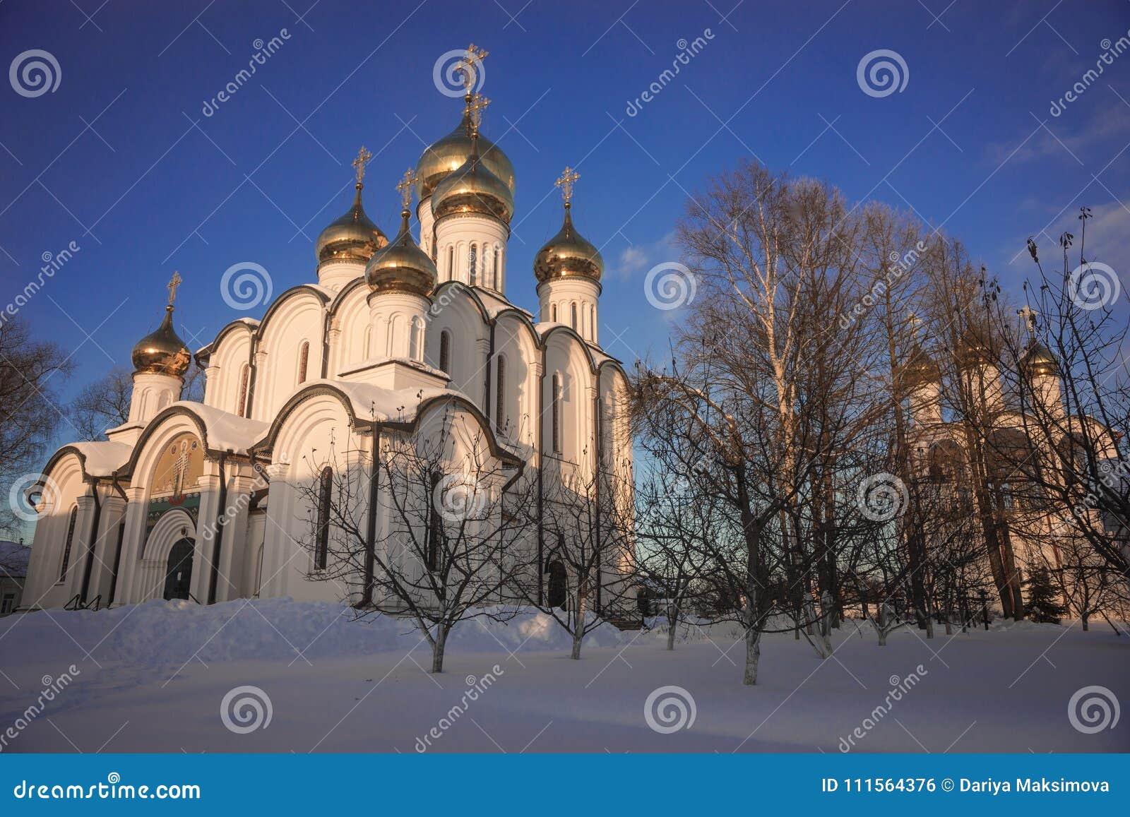 Kloster för Svyato Nikolsky Pereslavl kvinna` s i Pereslavl Zalessk