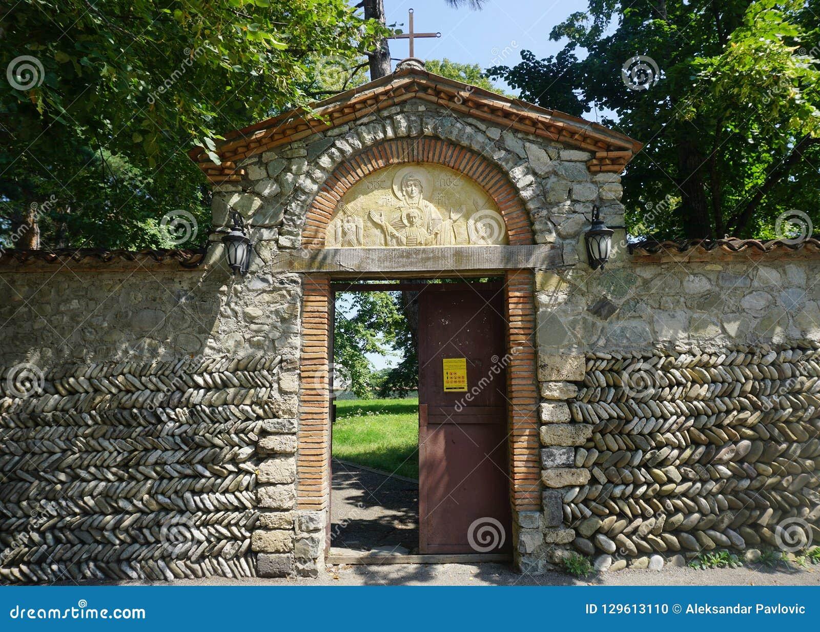 Kloster-Tür Telavi Akhali Shuamta