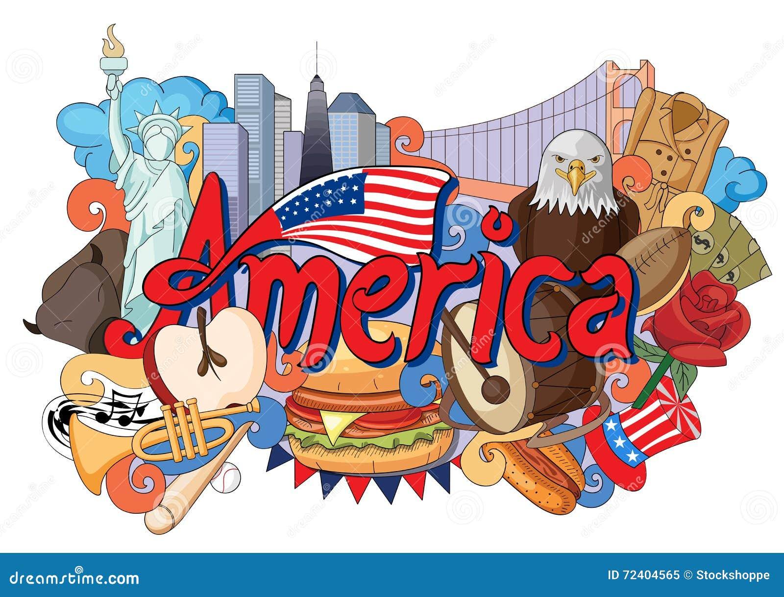 Klottervisningarkitektur och kultur av Amerika