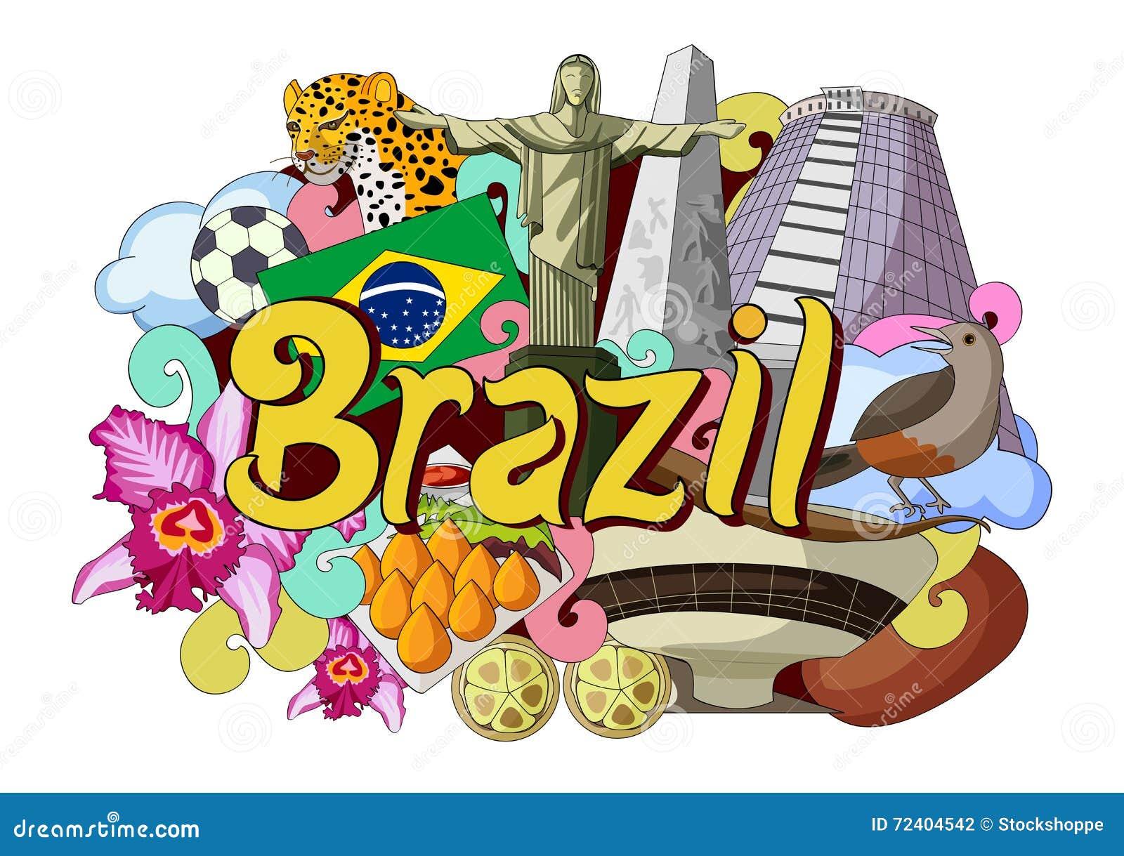 Klottervisningarkitektur och kultur av Brasilien