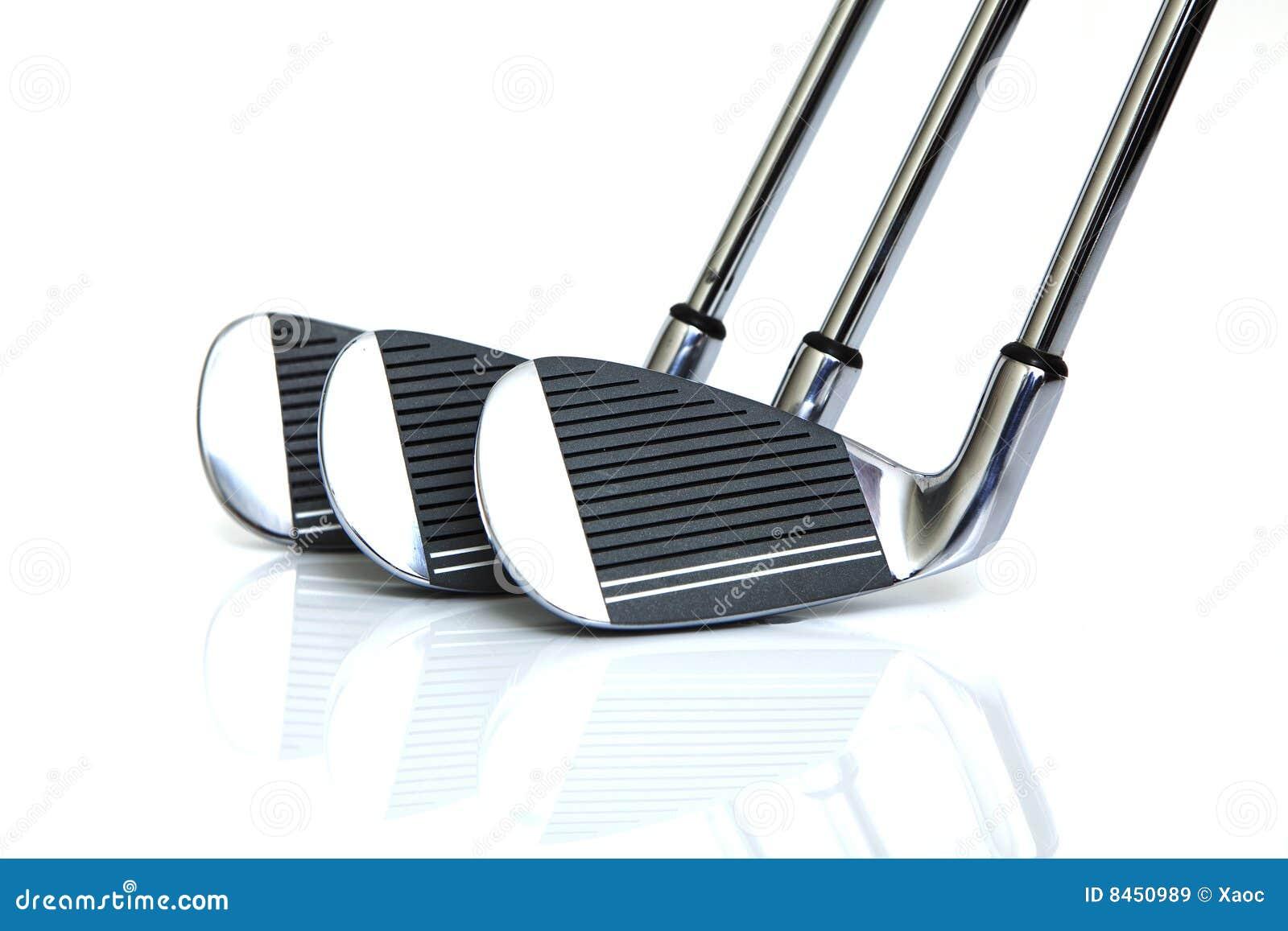 Klubbor golf isolerat