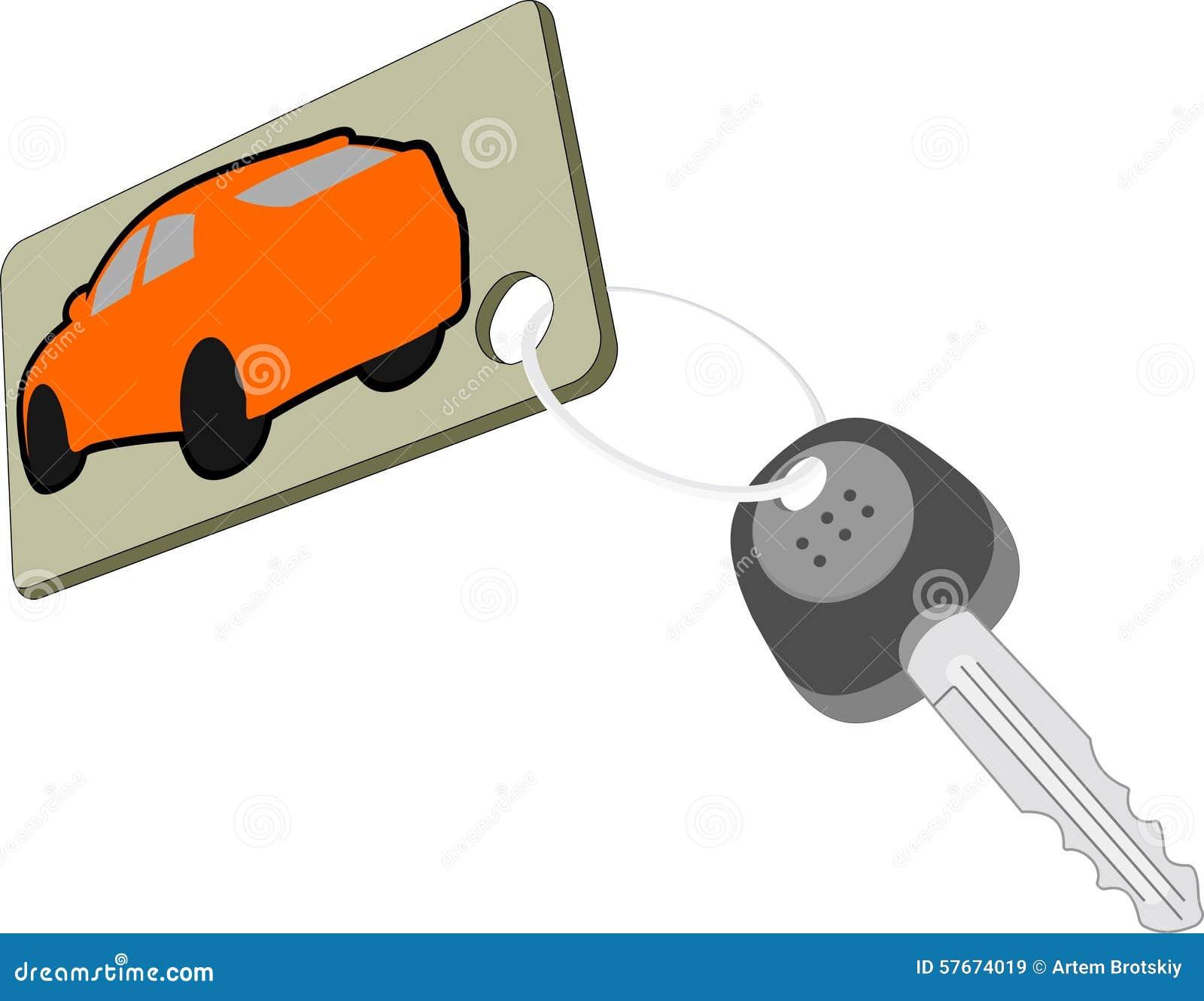 Klucz samochód