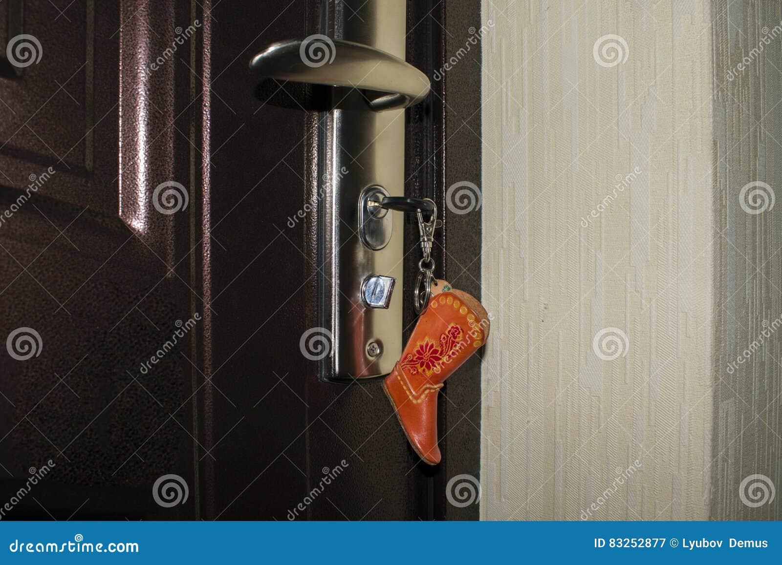Klucz z kciukiem w postaci buta w keyhole